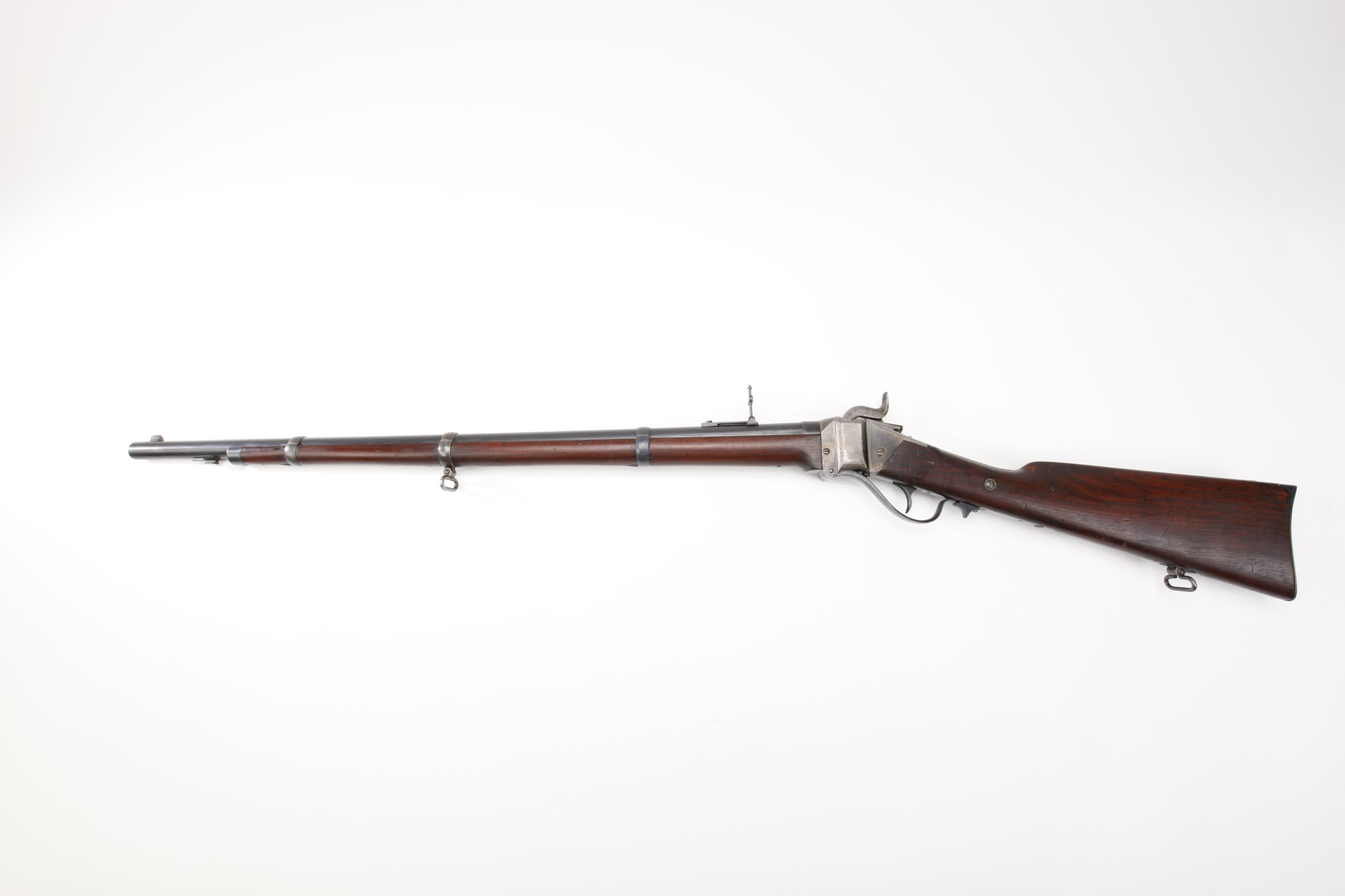 Sharps Model 1859 Percussion Breechloading Rifle