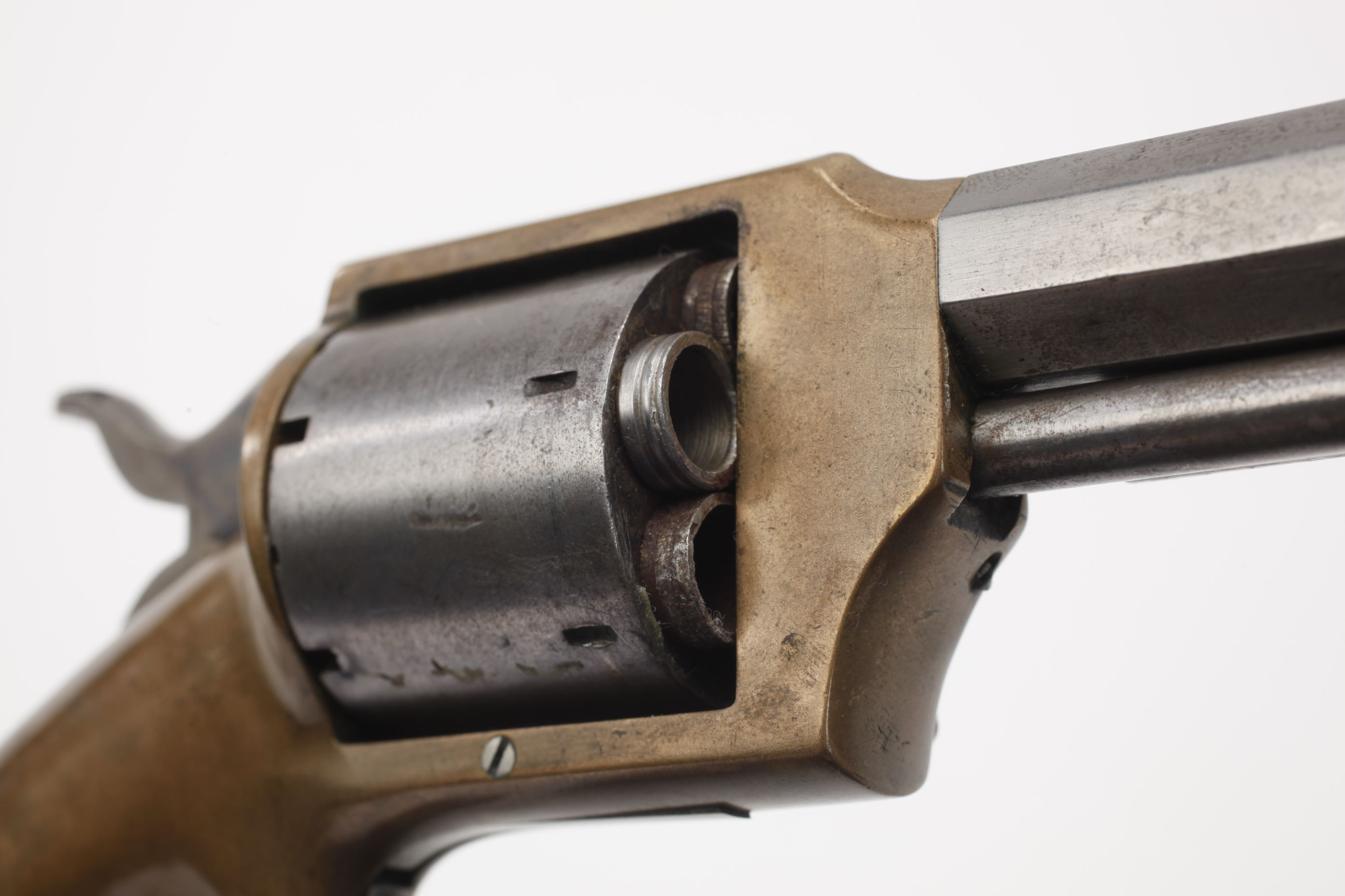 Lucius W. Pond Front Loading Revolver