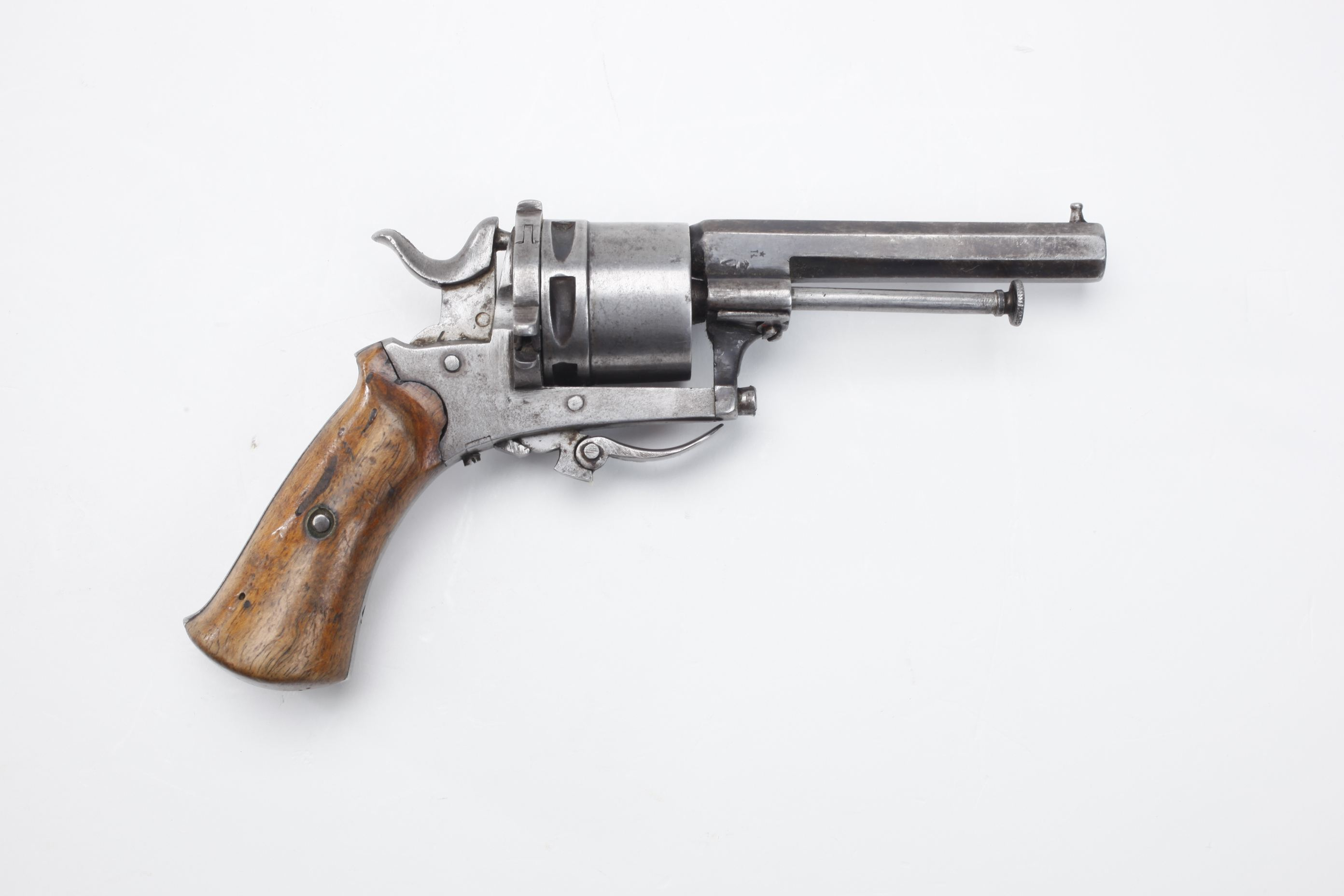 Belgian Double Action Pinfire Revolver