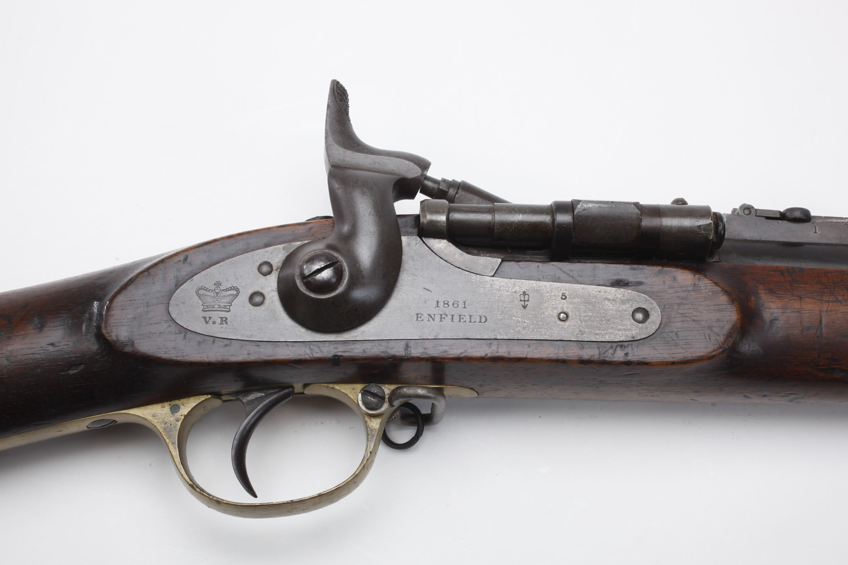 Enfield Snider Rotating Block Conversion Rifle