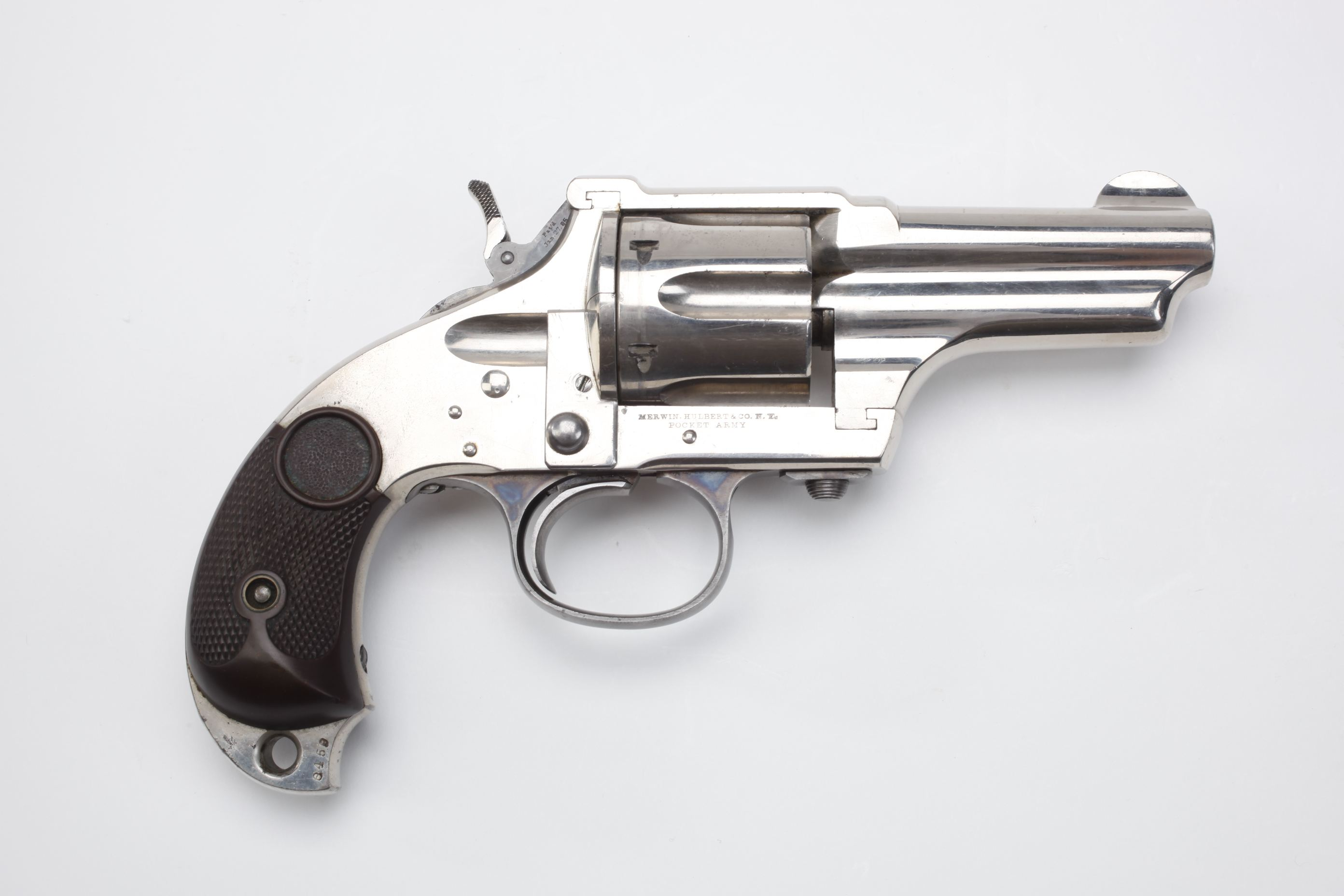 Merwin Hulbert & Co Pocket Army Revolver
