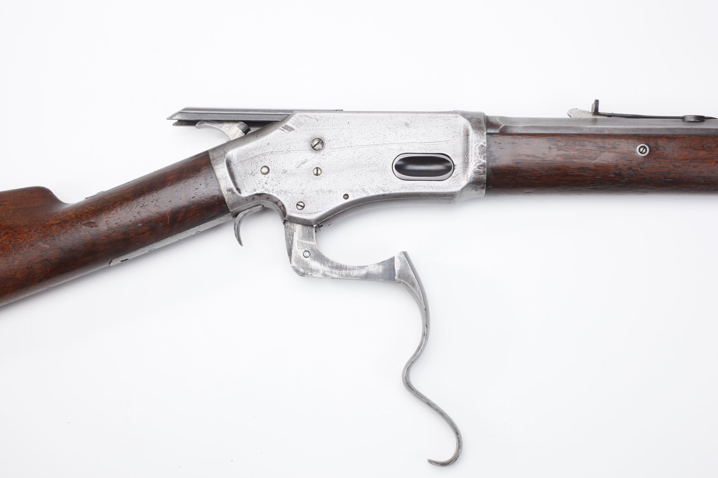 Whitney Burgess Morse Lever Action Repeating Rifle