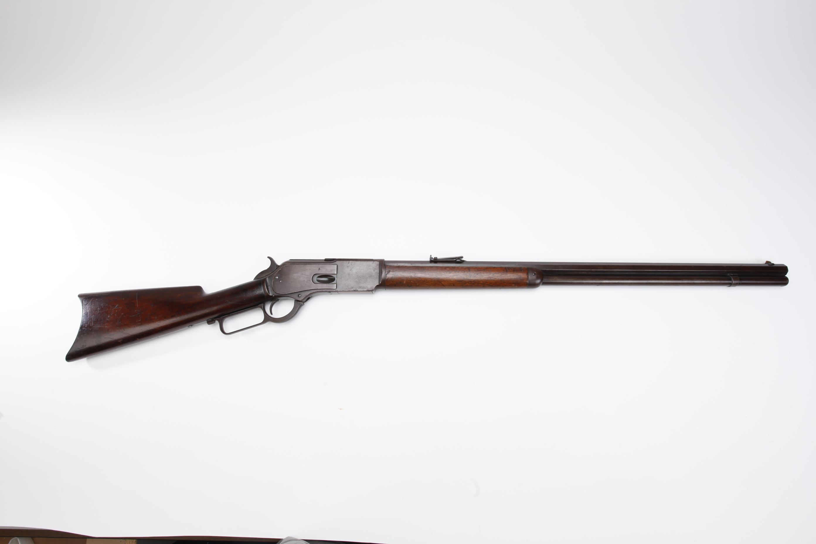 Winchester Model 1876 Lever Action Rifle (1)