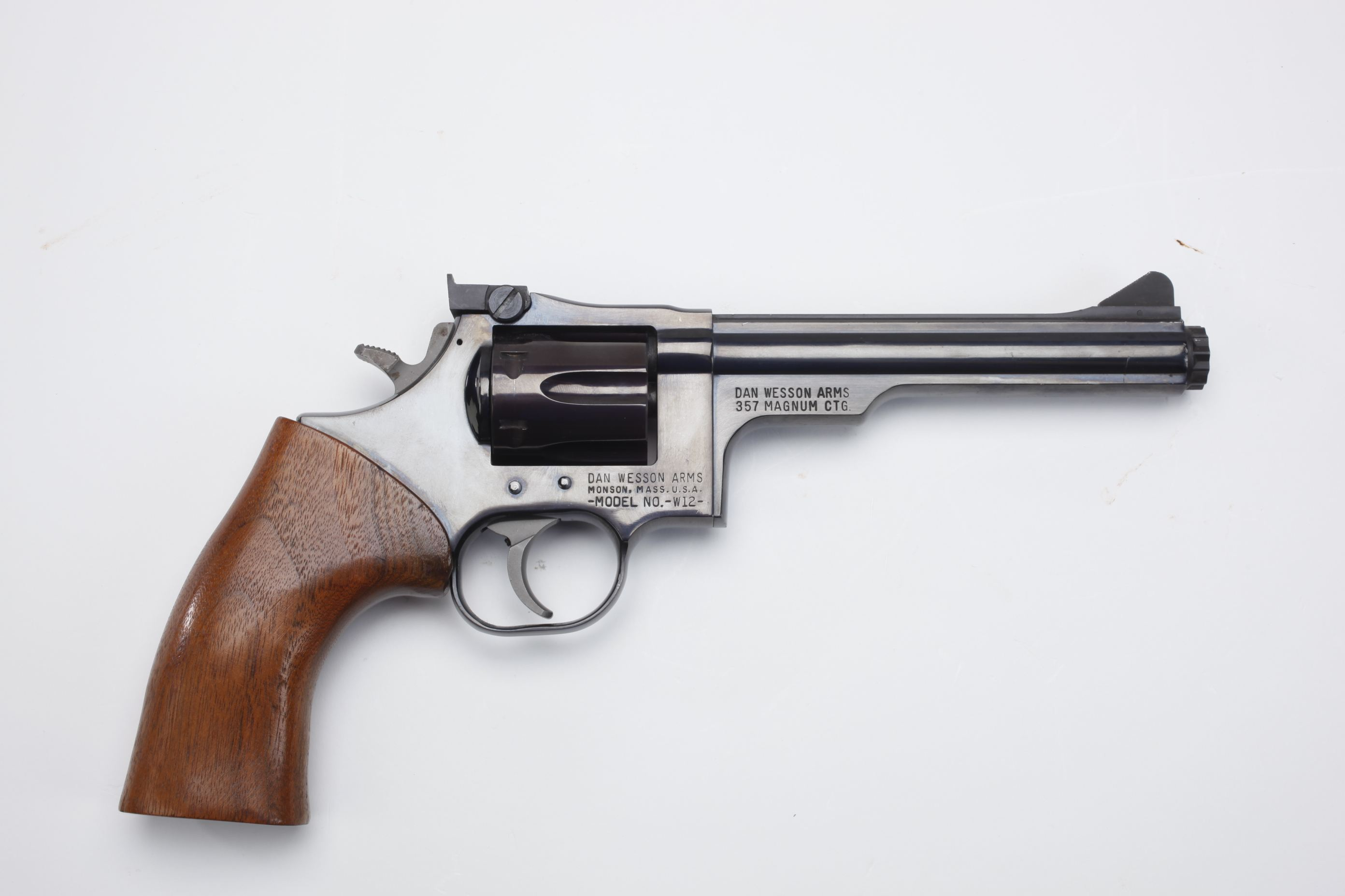 Dan Wesson Model 12 revolver