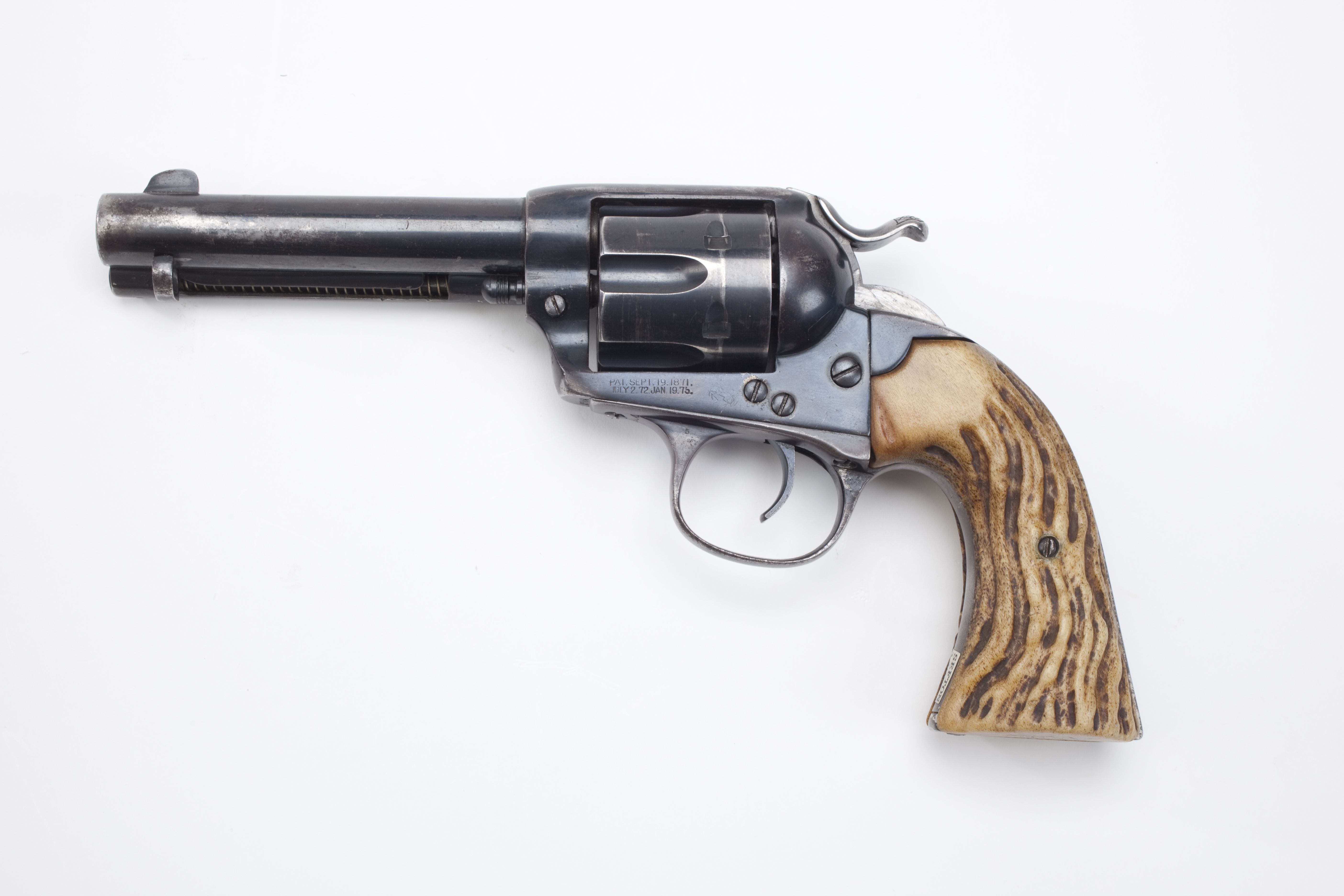 Colt Bisley Single Action Army Revolver (1)