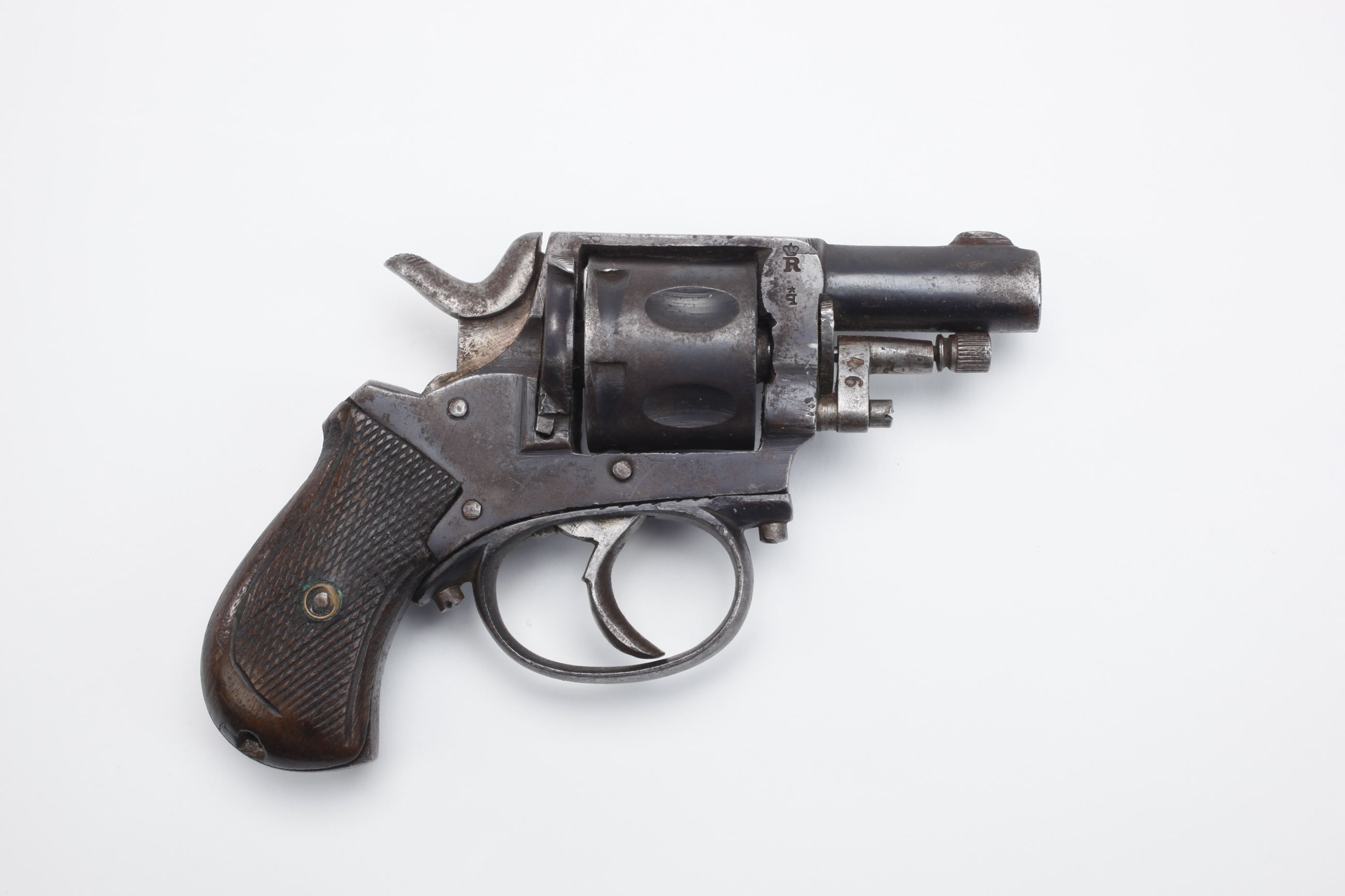 Belgian Double Action Pocket Revolver