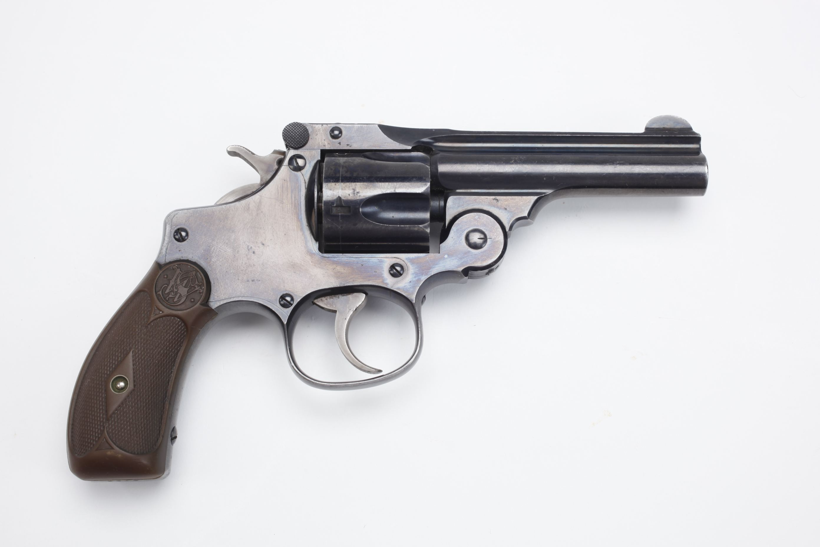 Smith & Wesson 38 Double Action Perfected Model Revolver