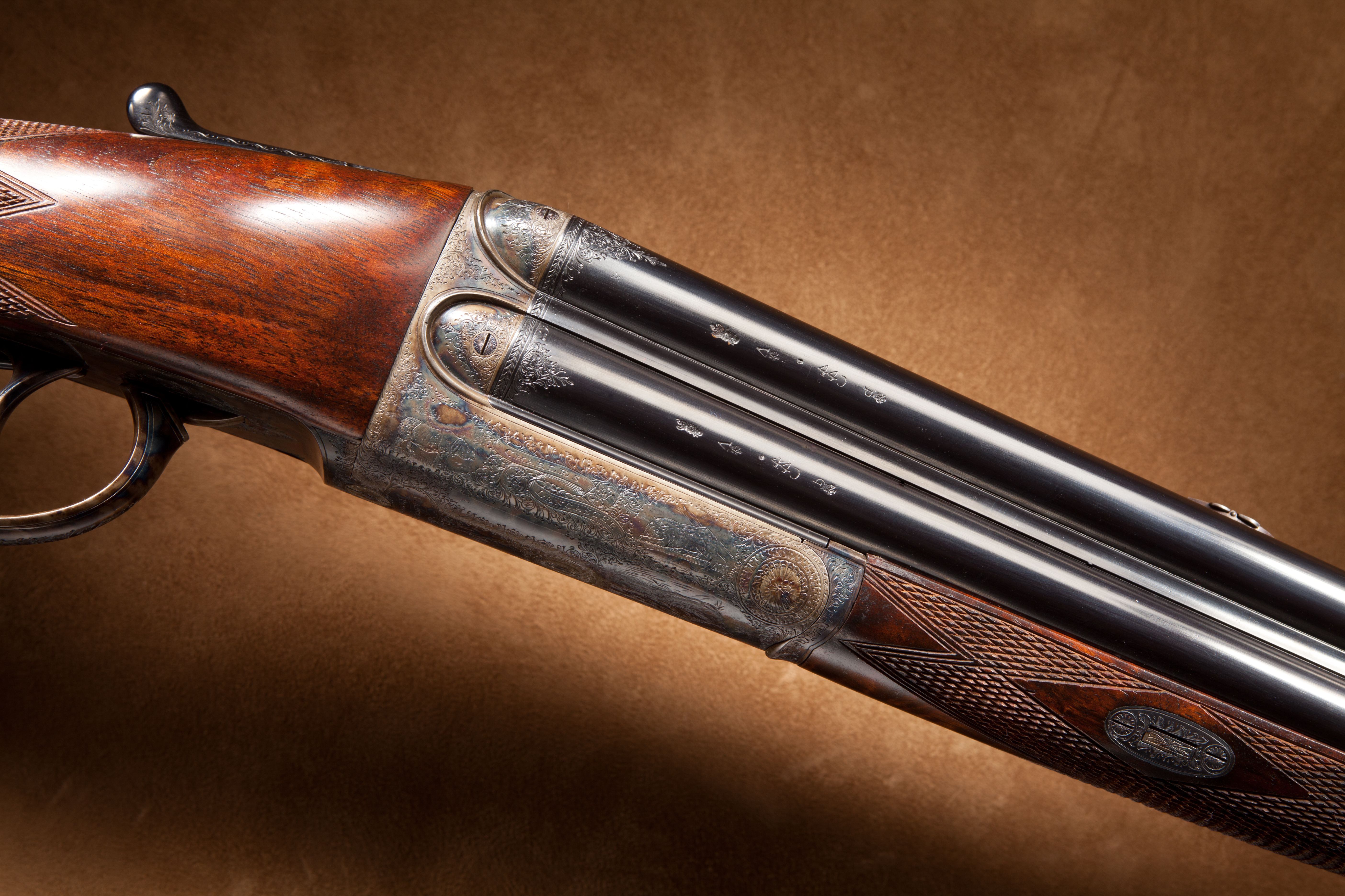 Lancaster Four Barrel Shotgun - 28 ga.