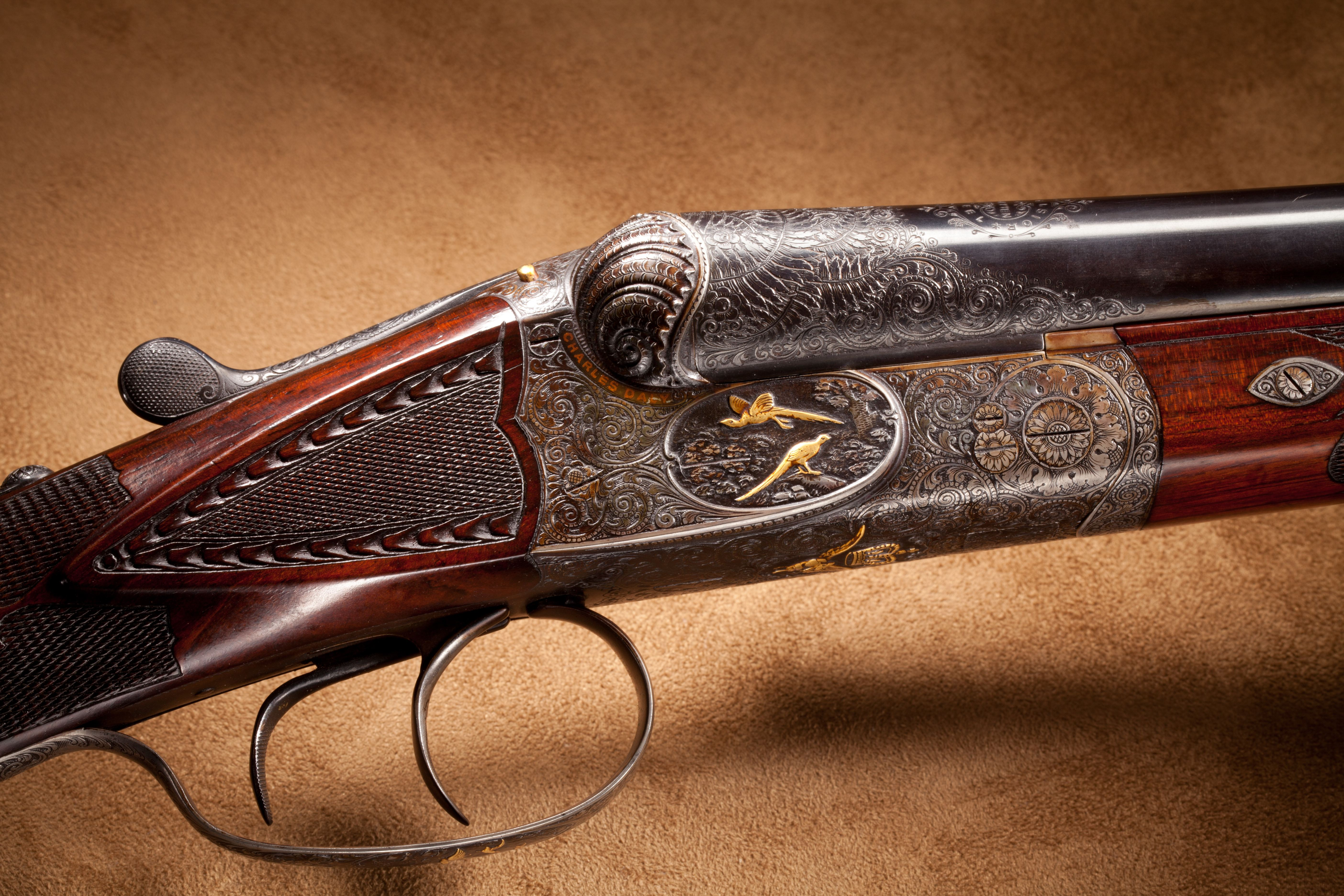 Charles Daly Regent Diamond Grade Side by Side Shotgun - 16 ga.