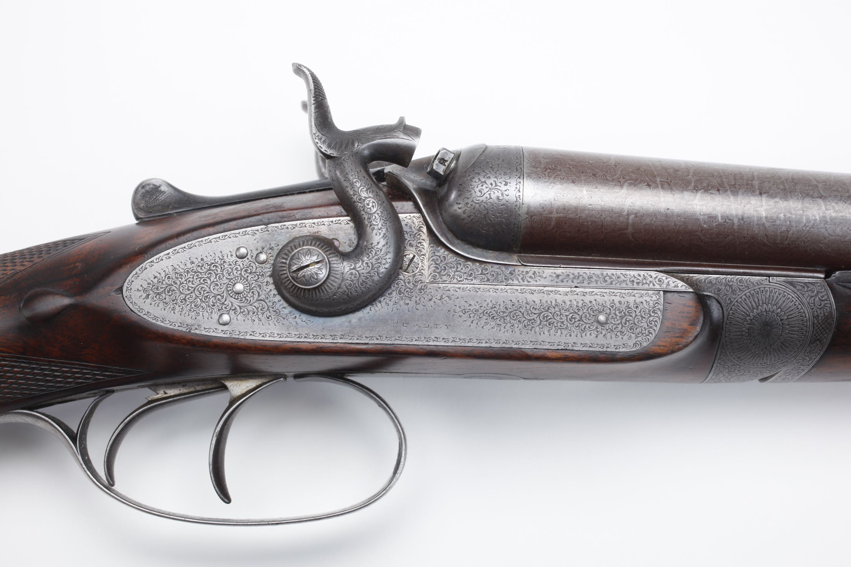 James Purdey & Sons Side by Side Hammer Shotgun