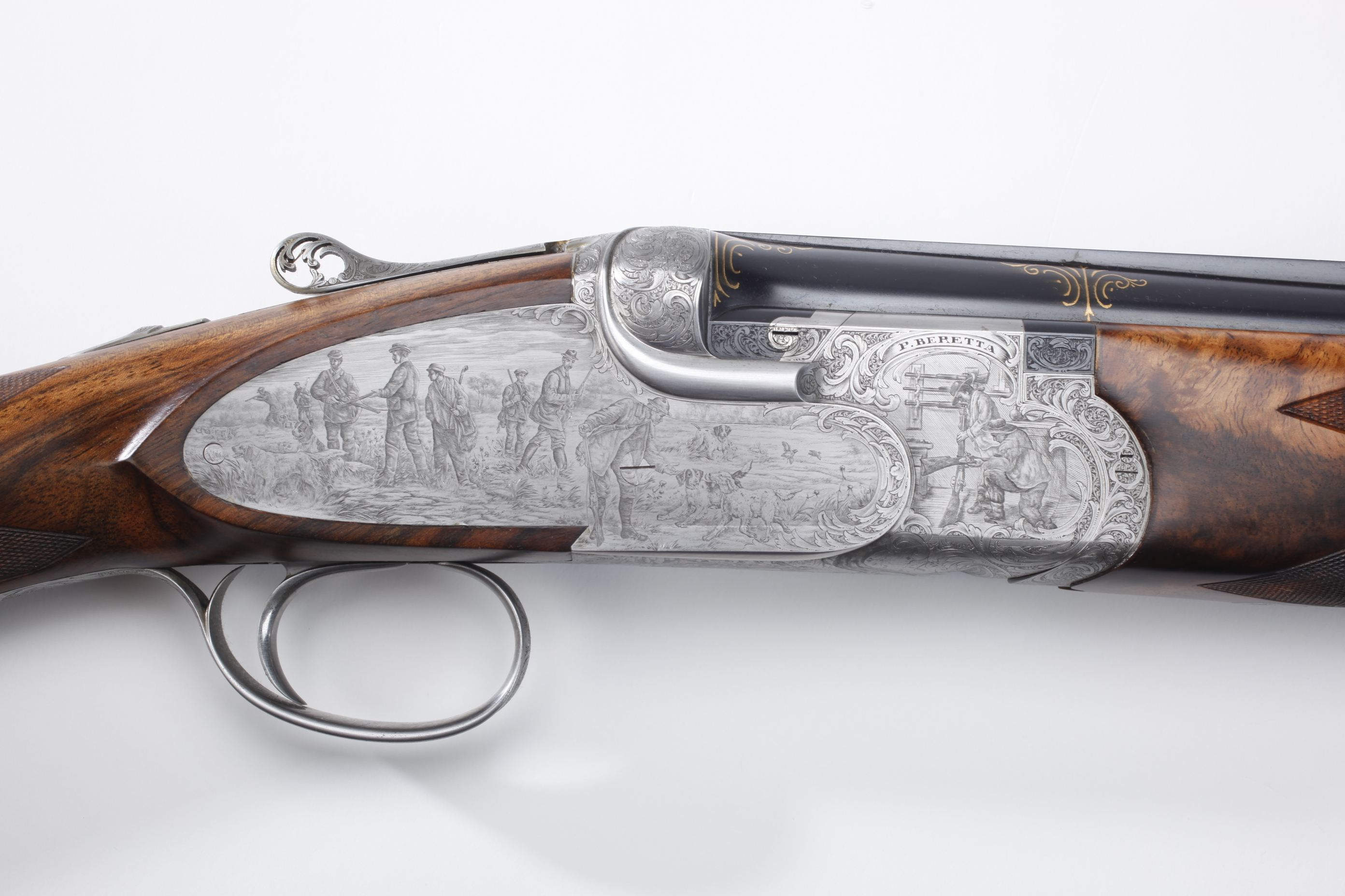 "Pietro Beretta Renaissance ""Set of Five"" SO9 Over-Under Shotguns (II)"