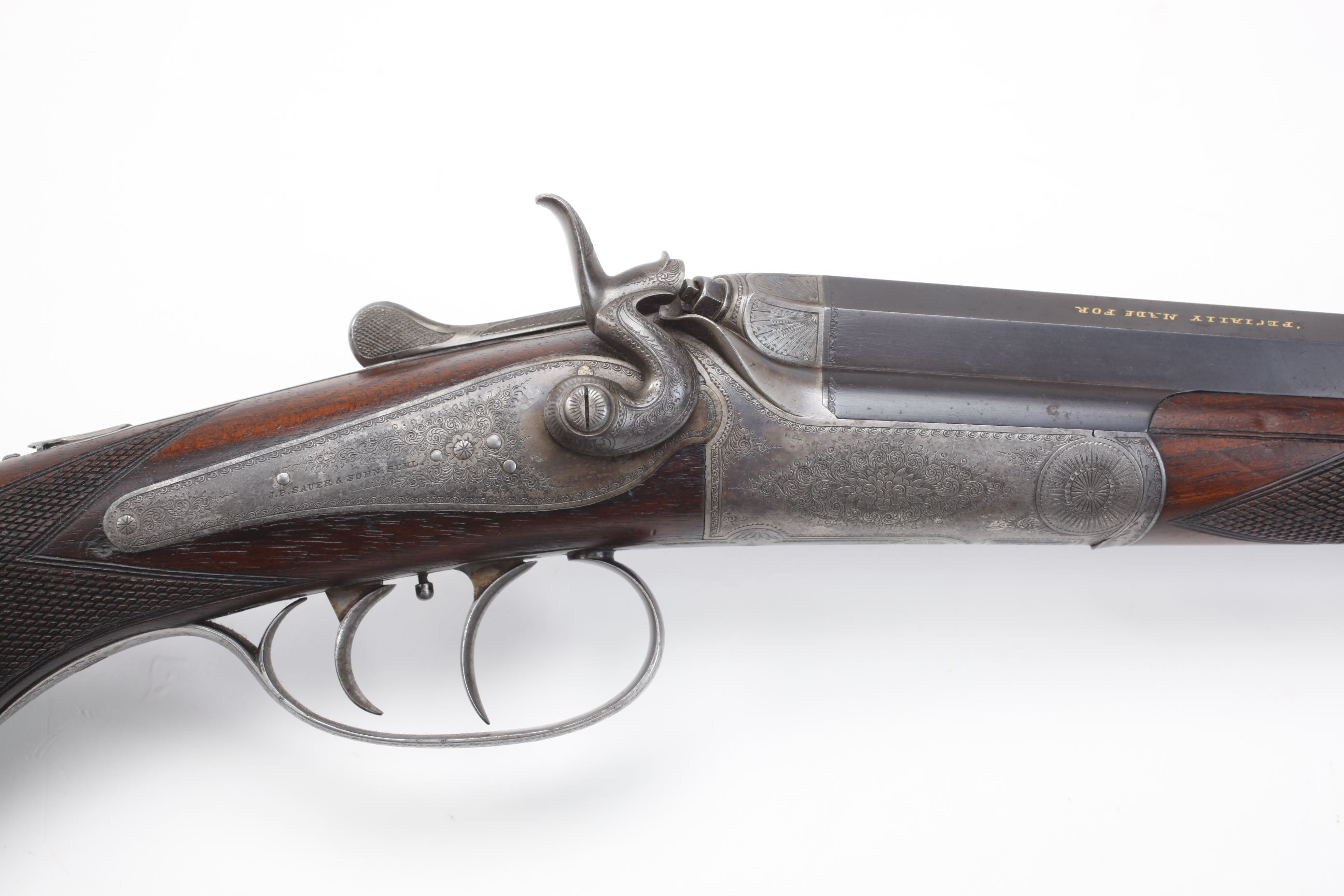 J. P. Sauer Single Shot Rifle
