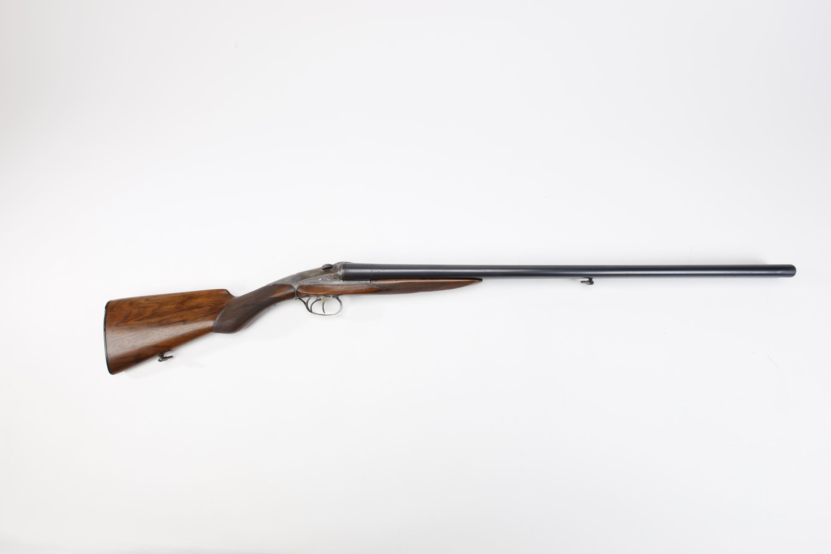 Darne S. A. Sliding Breech Side by Side Shotgun