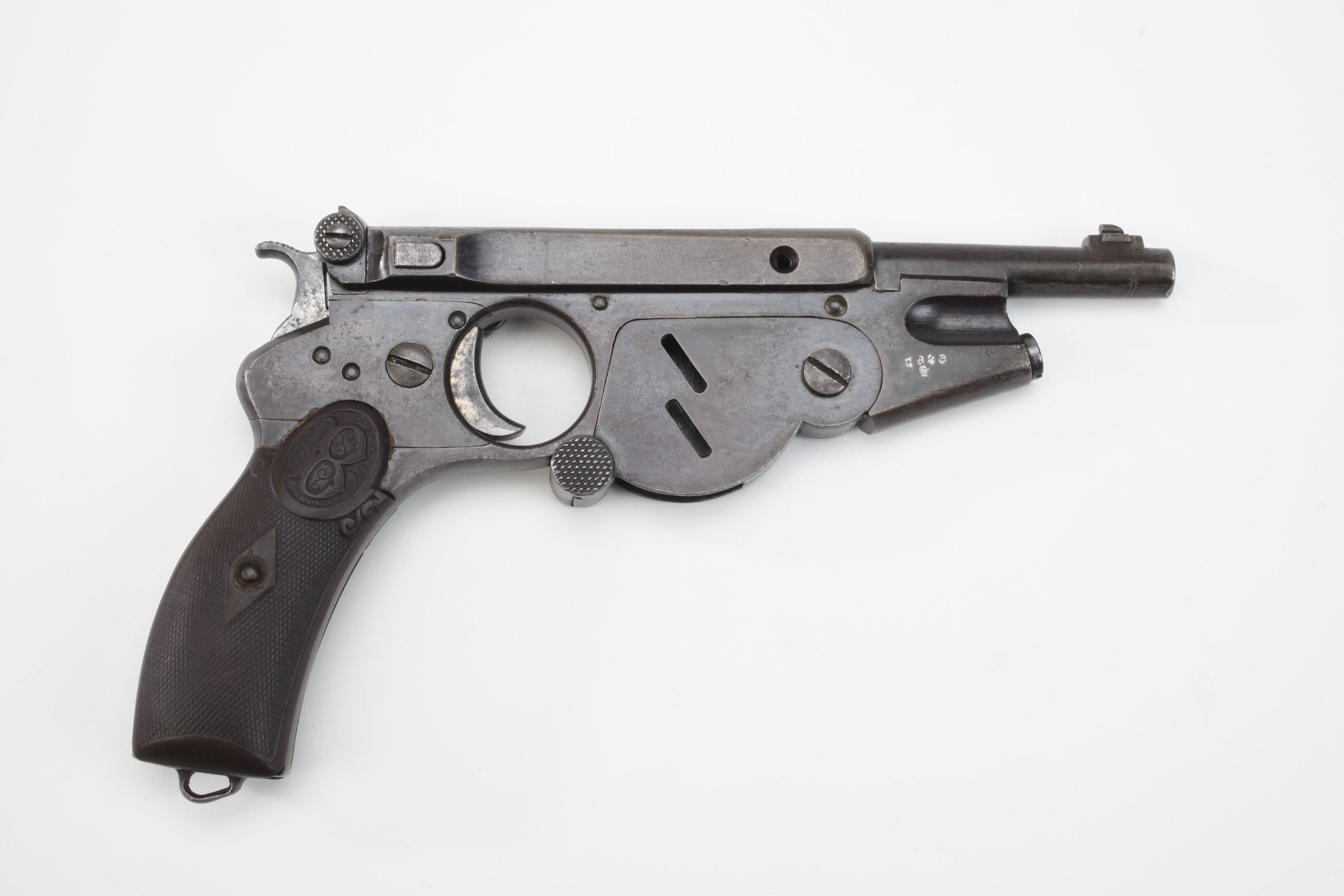 Bergmann Model 1896 Semi Automatic Pistol