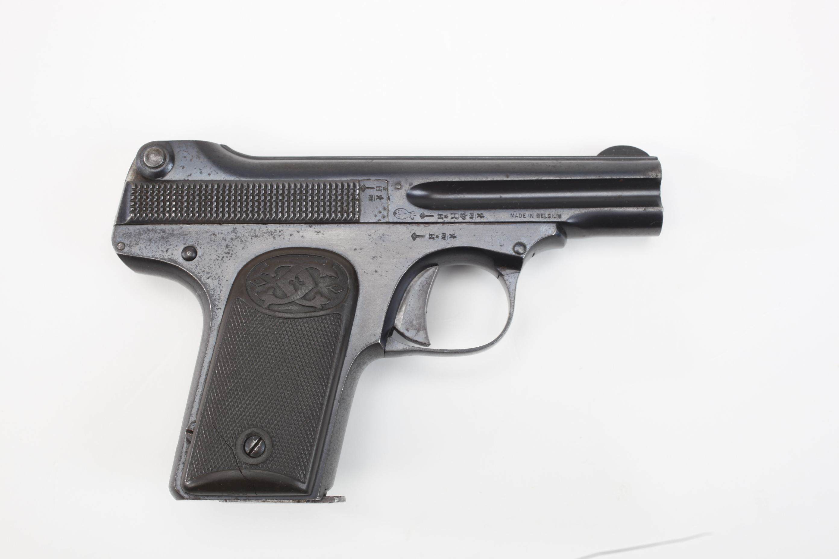 Charles Clement Model 1910 Semi Automatic Pistol