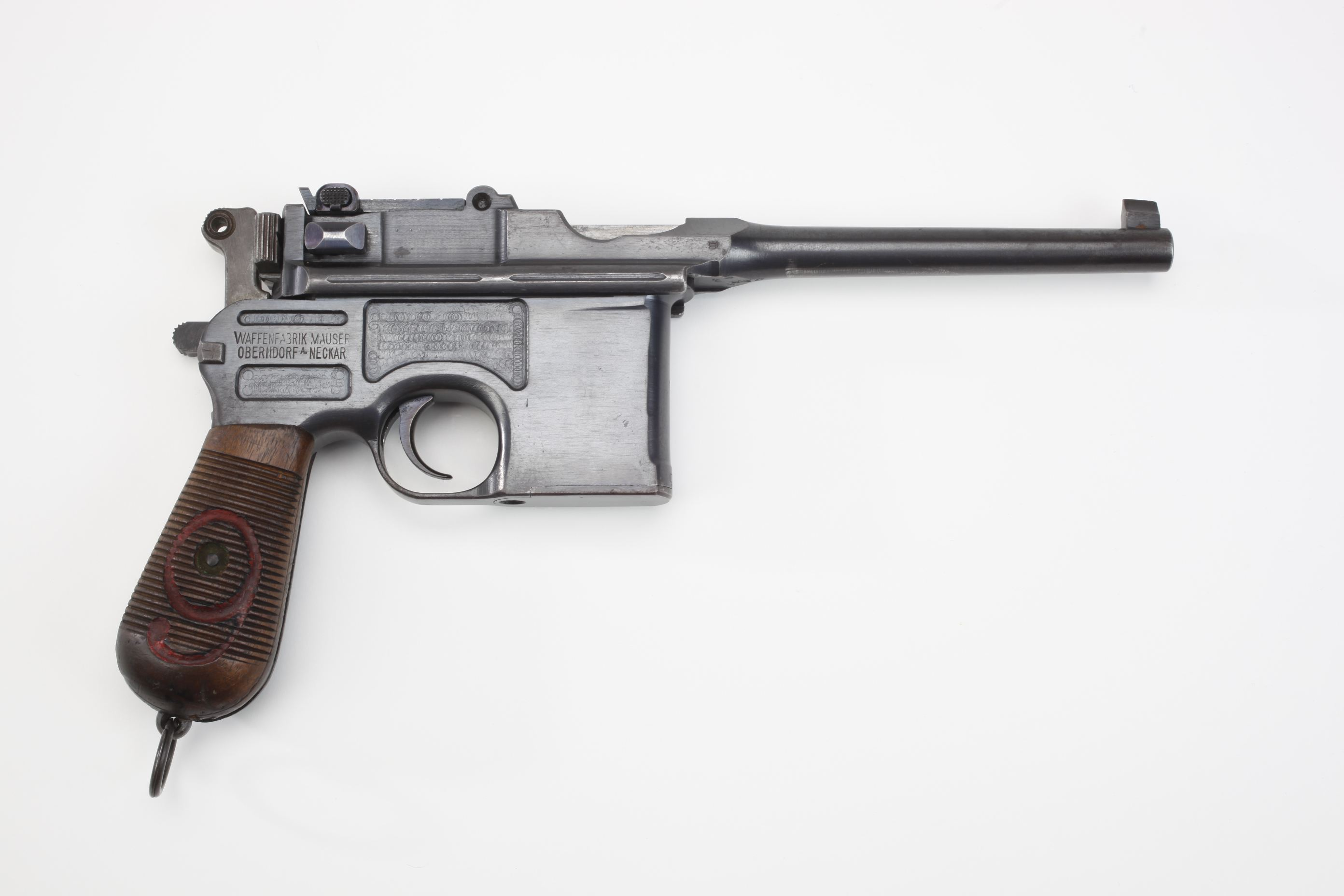 Mauser Model 1896 Broomhandle Semi Automatic Pistol (2)