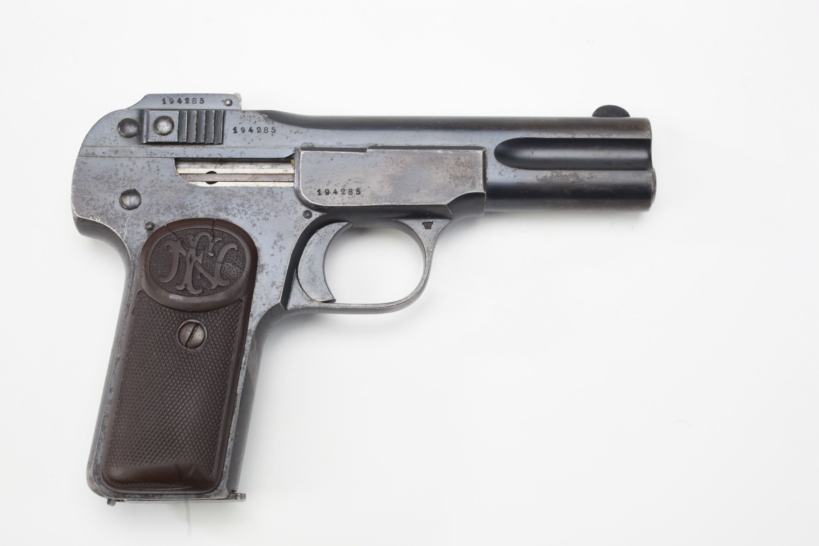 Fabrique Nationale Model 1900 FN Semi Automatic Pistol