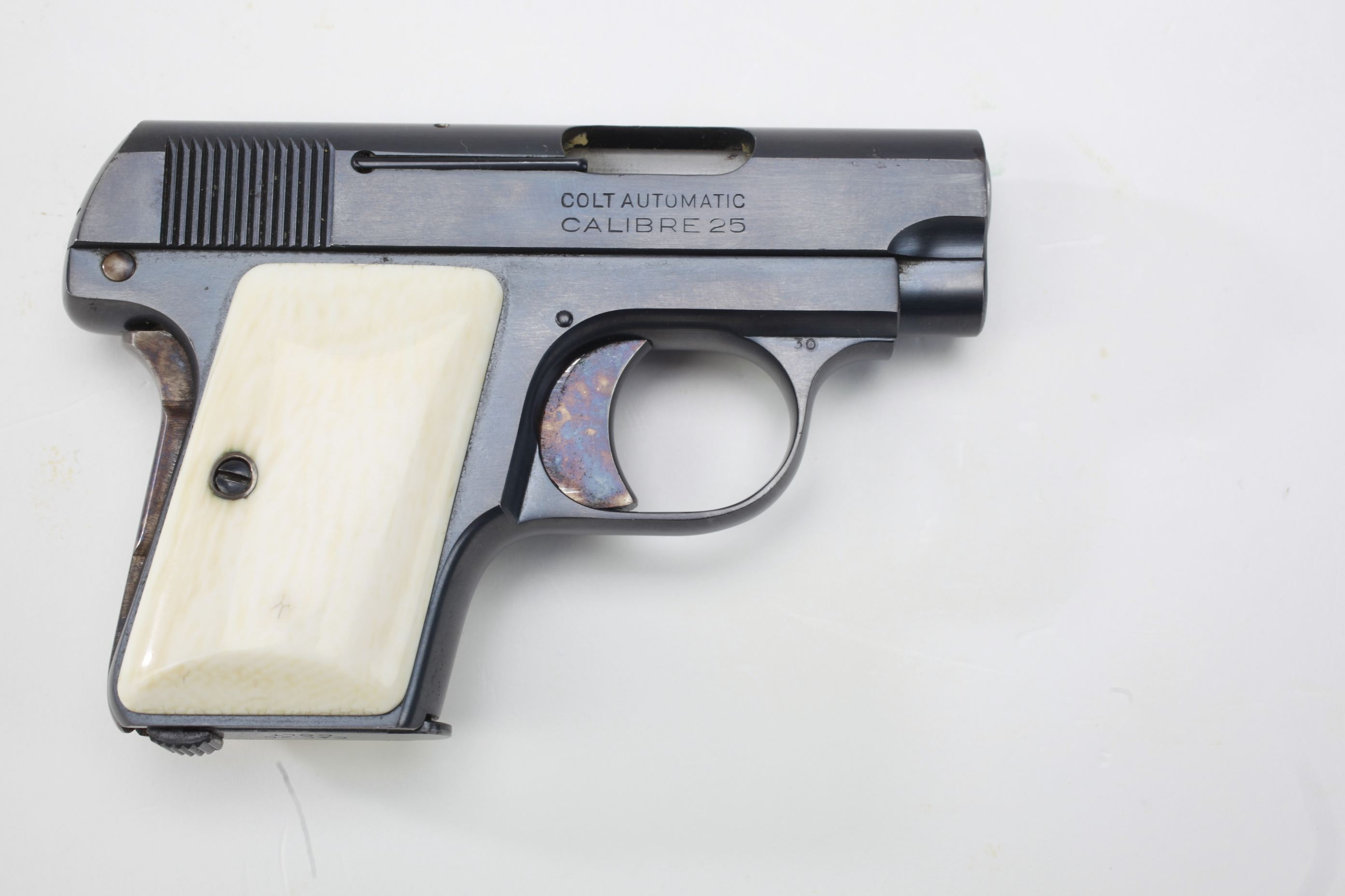 Colt Model 1908 Hammerless 25 Caliber Automatic Pistol