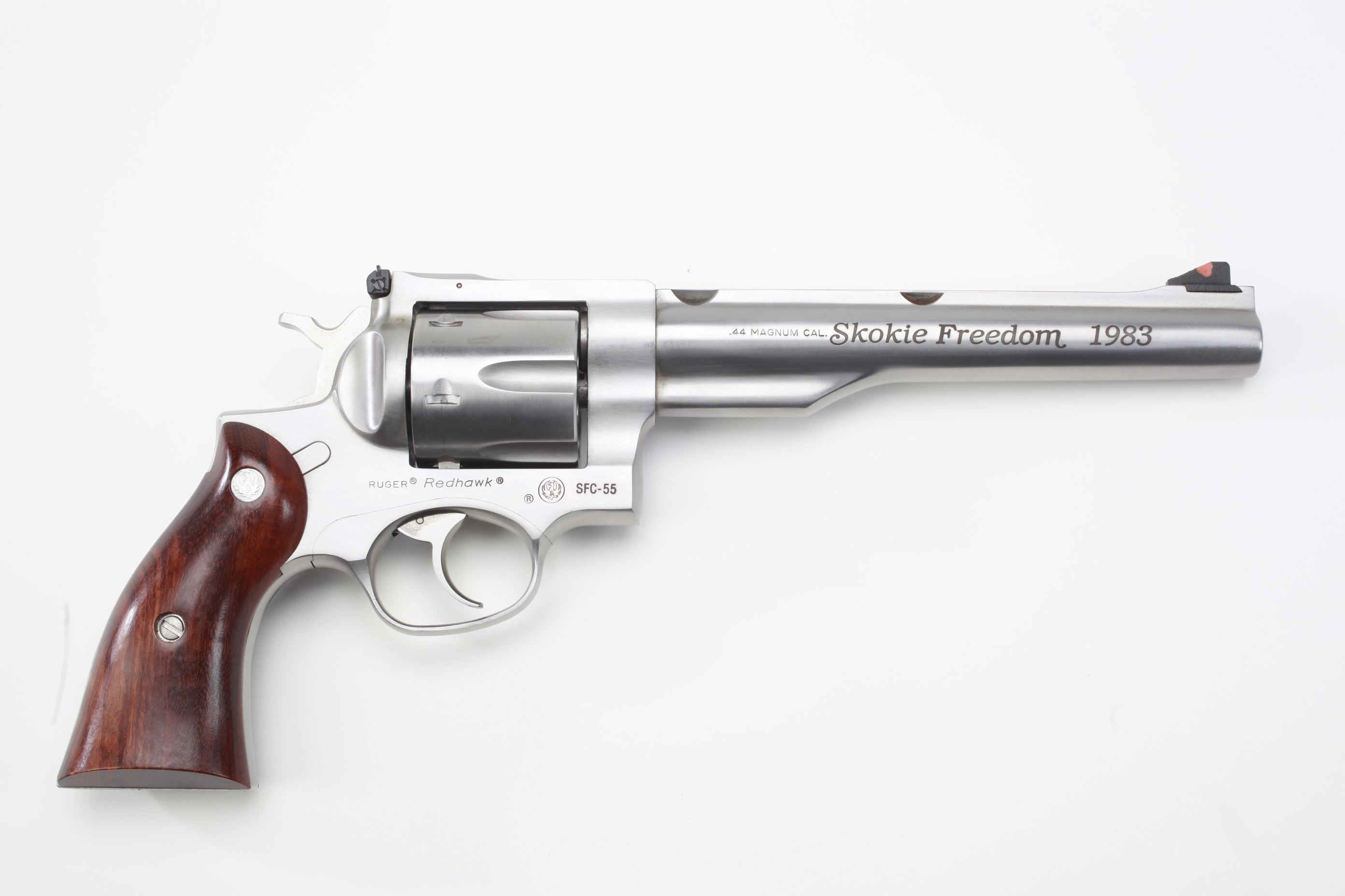 Ruger and Co Redhawk revolver