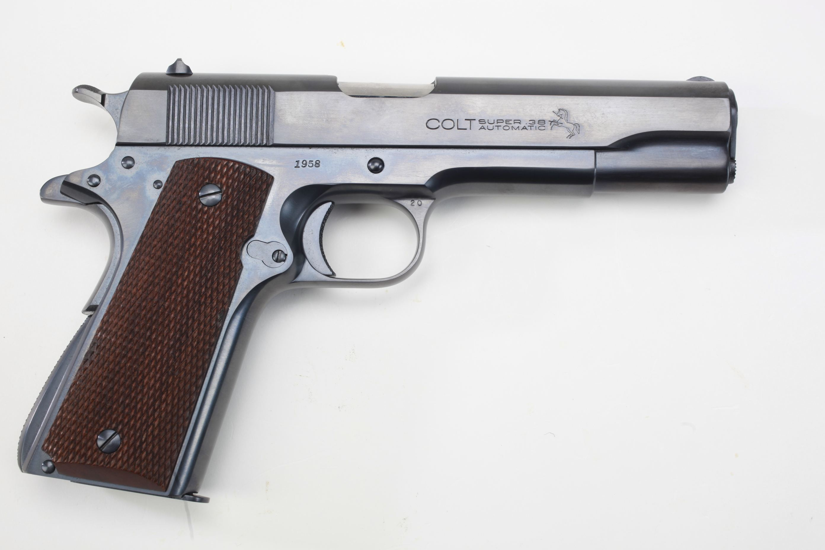 Colt Super 38 Semi Automatic Pistol