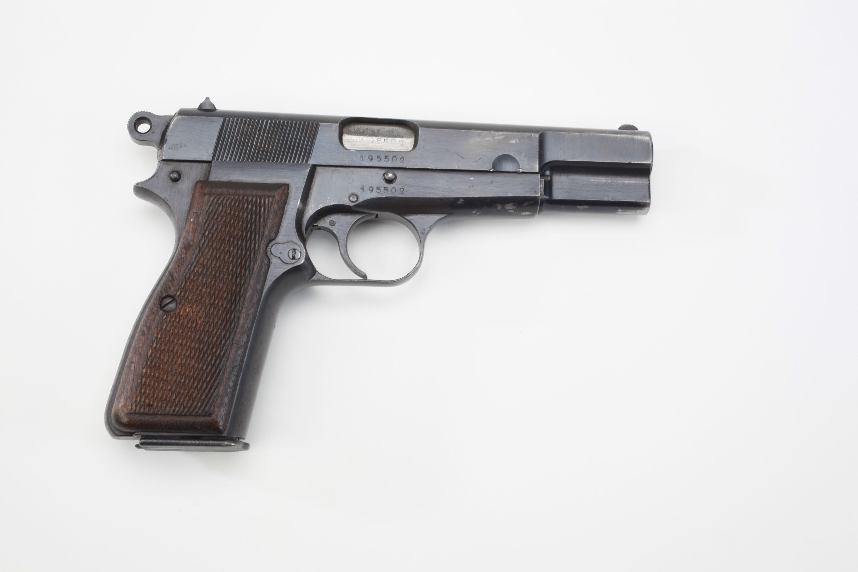 Fabrique Nationale Browning P 35 Hi Power Semi Automatic Pistol
