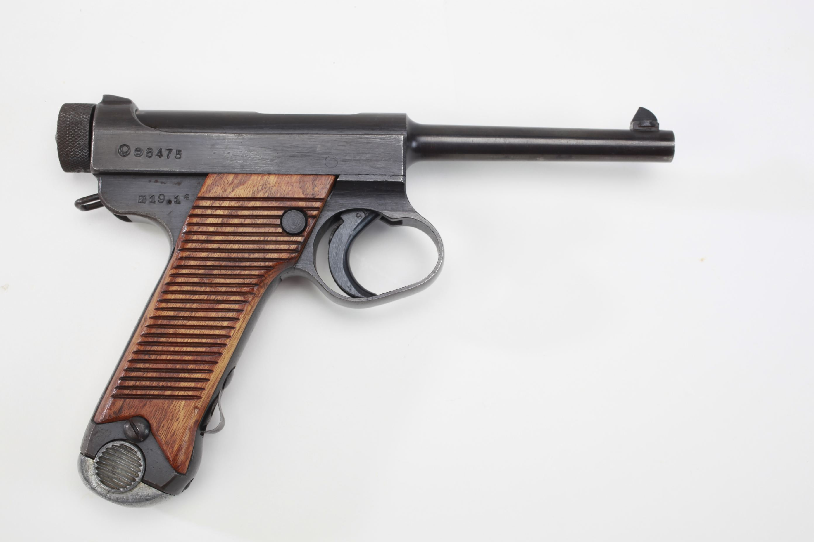 Nagoya Army Arsenal Type 14 Nambu Semi Automatic Pistol