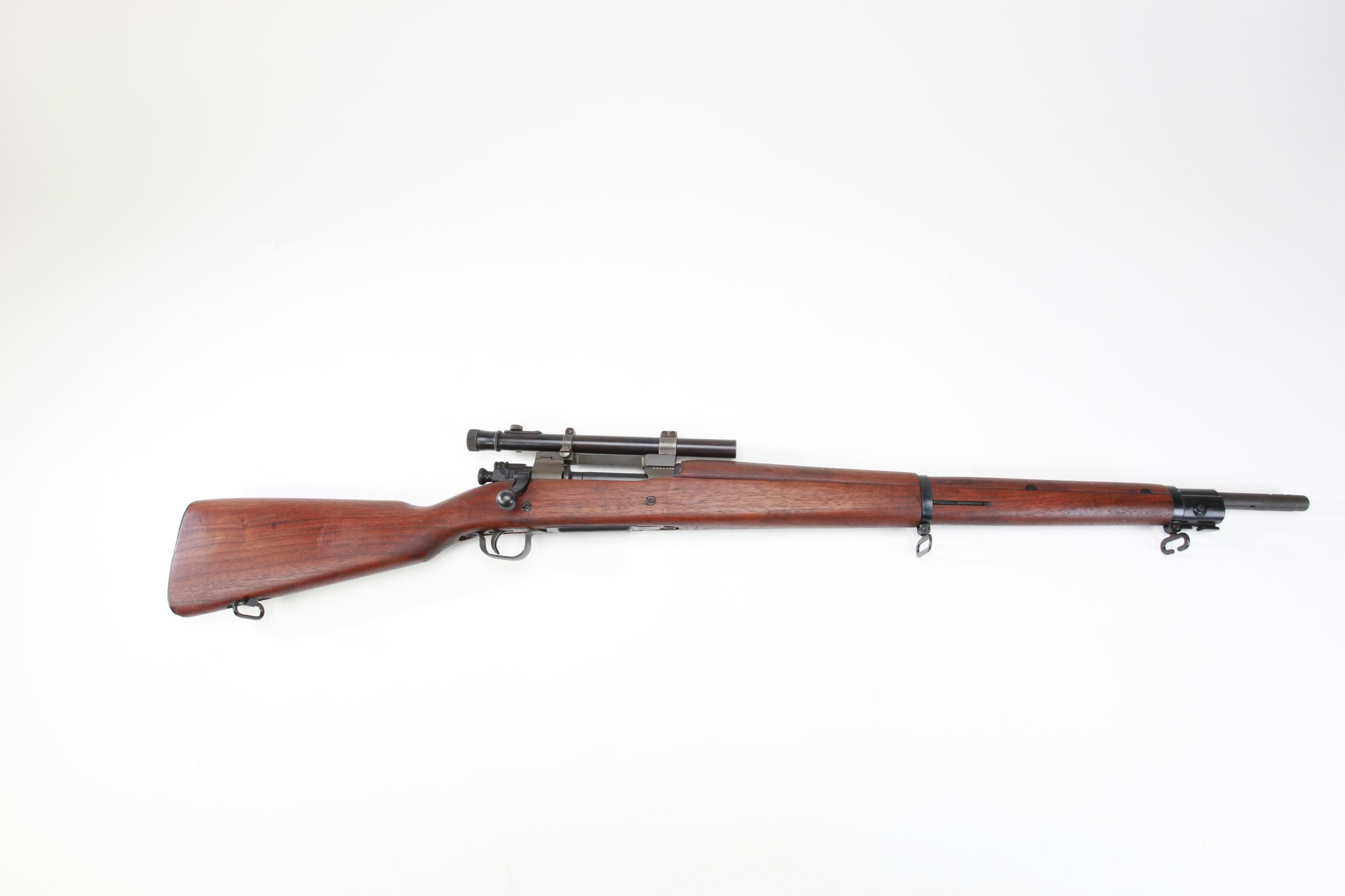 U.S. Remington Model 1903A4 Bolt Action Rifle with telescopic sight