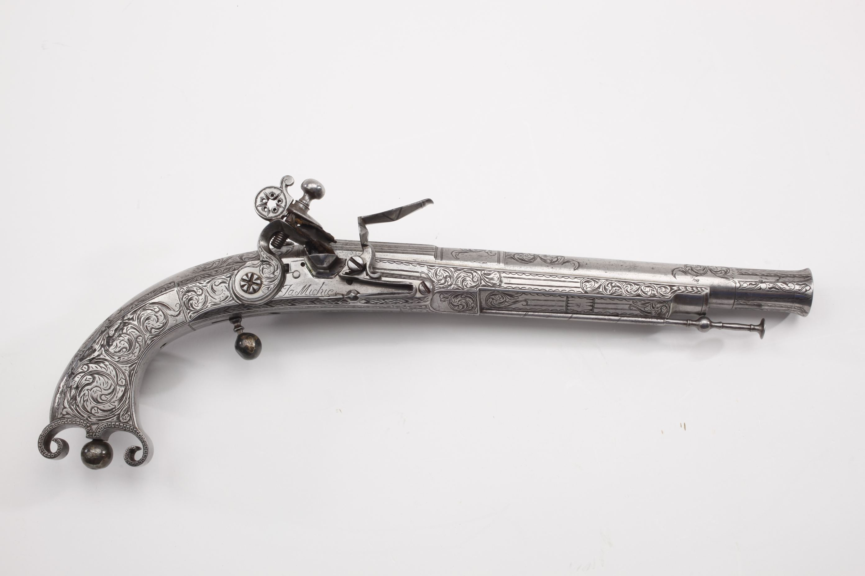 James Michie Scottish Metal Flintlock