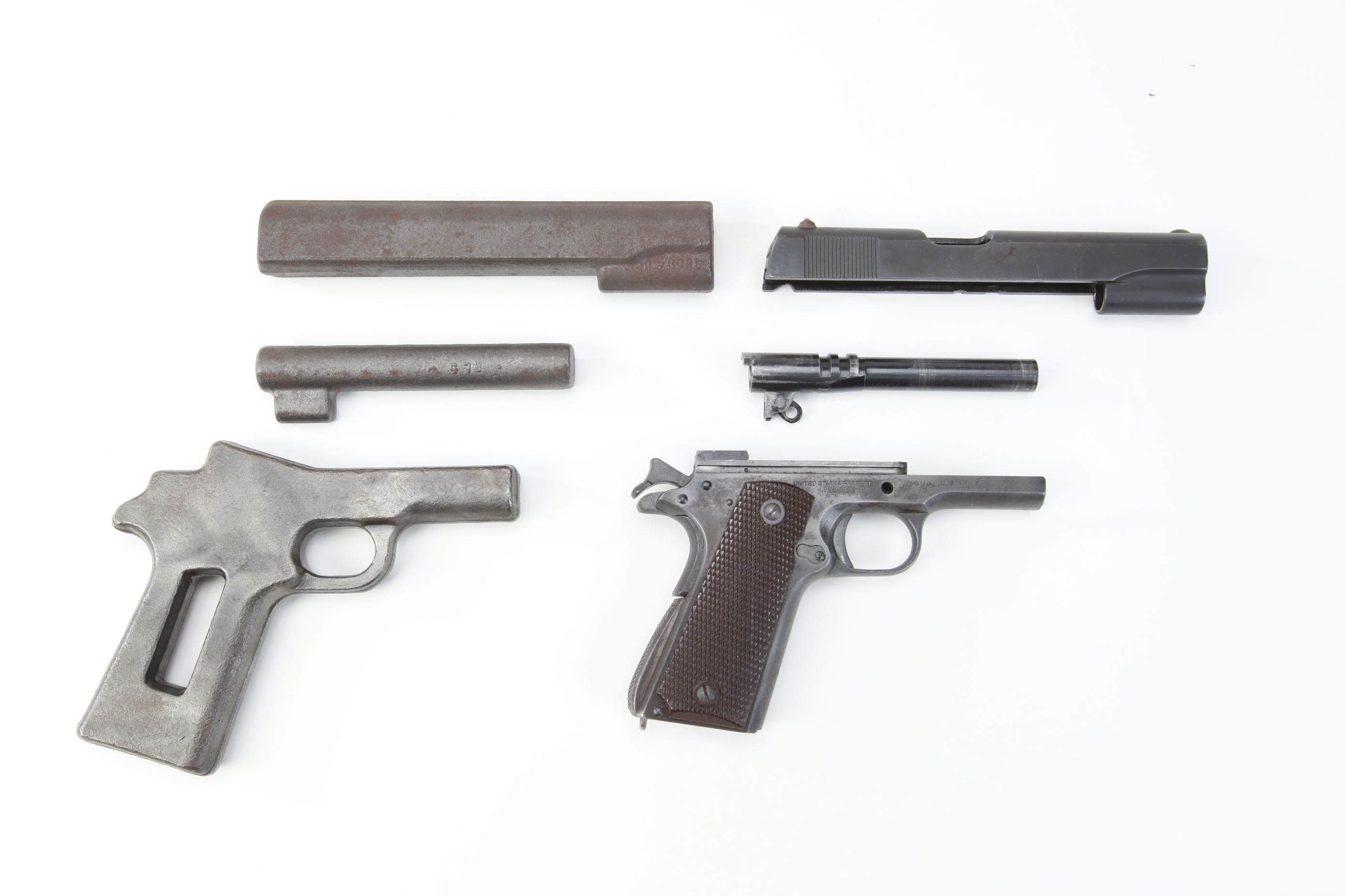 Colt M1911 Pistol Frame/Slide/Barrel Forgings
