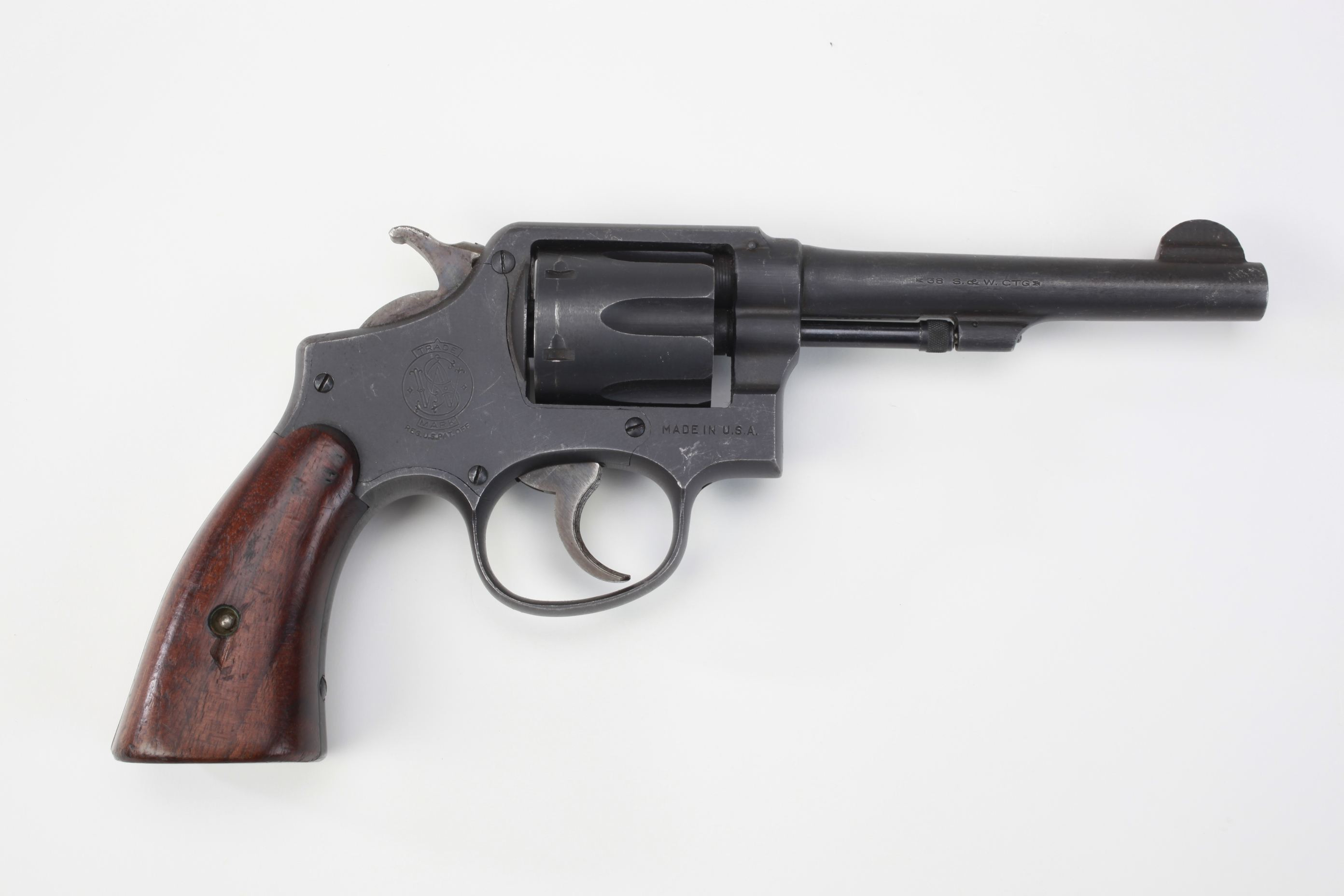 Smith and Wesson Victory Model Revolver