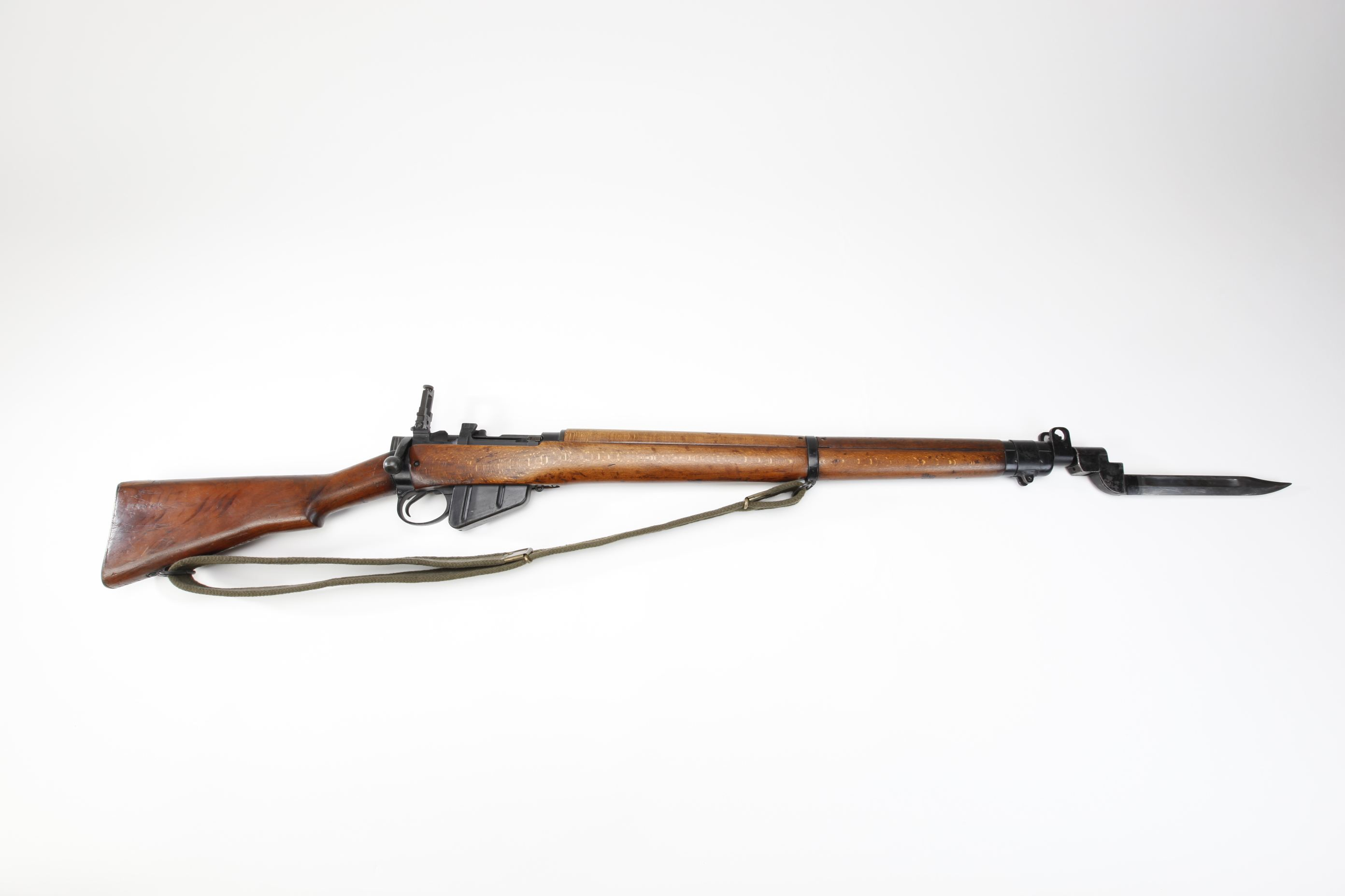 Savage SMLE No 4 Mk I 3 Bolt Action Rifle with bayonet