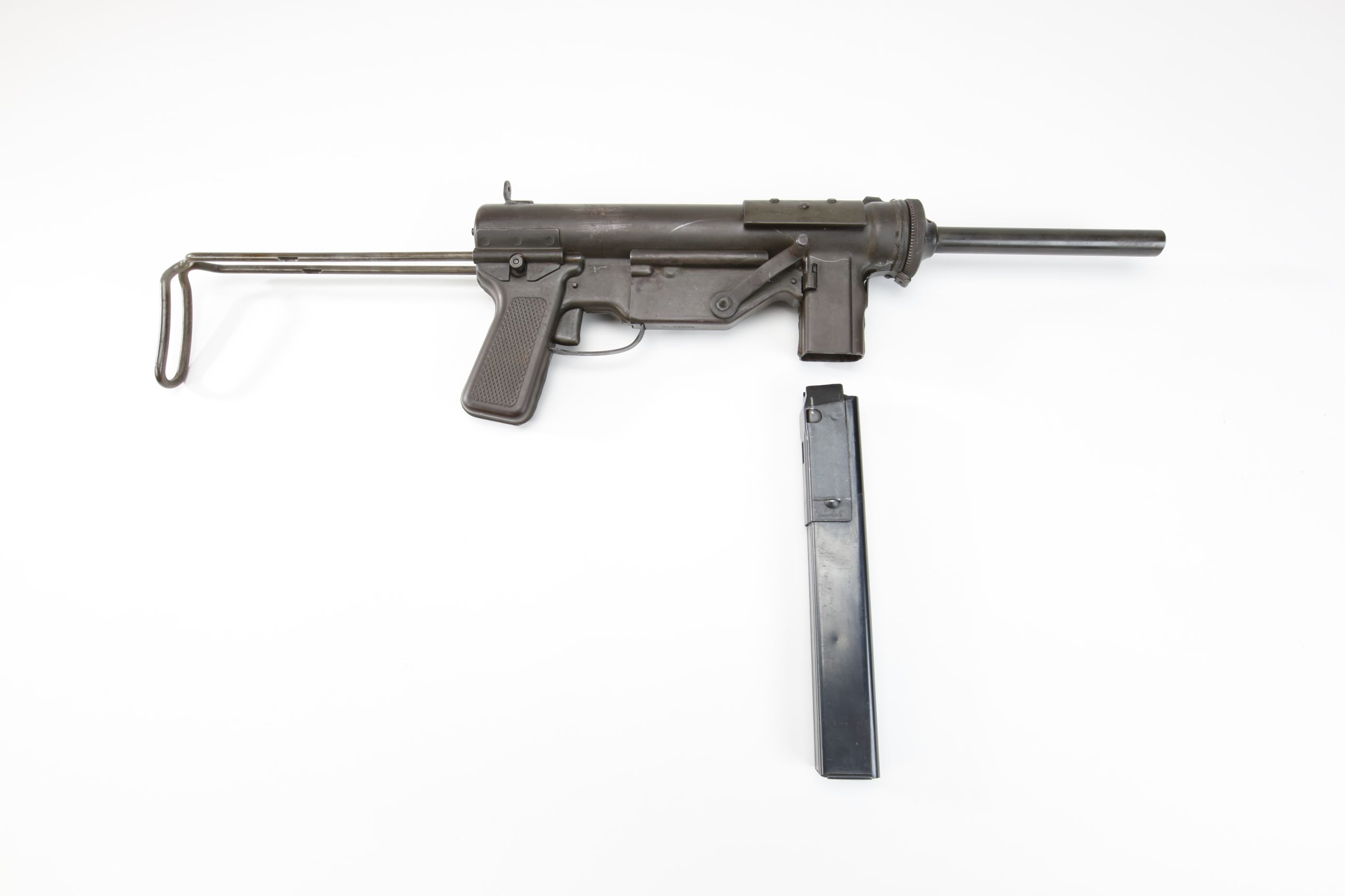 U.S. General Motors - Guide Lamp Division (Detroit, MI) M3 Submachine Gun