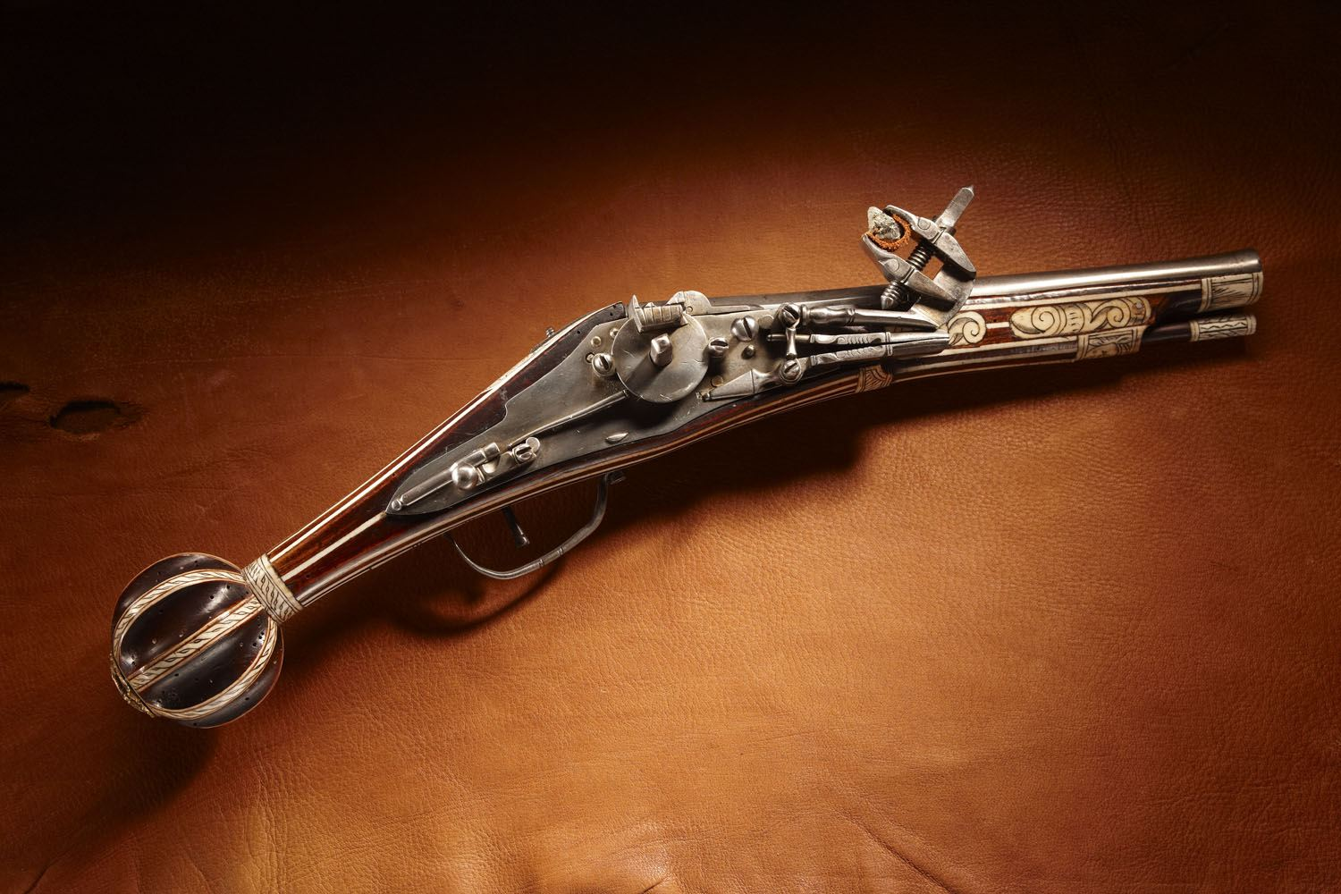 Early Ball Butt Dag Wheellock Pistol