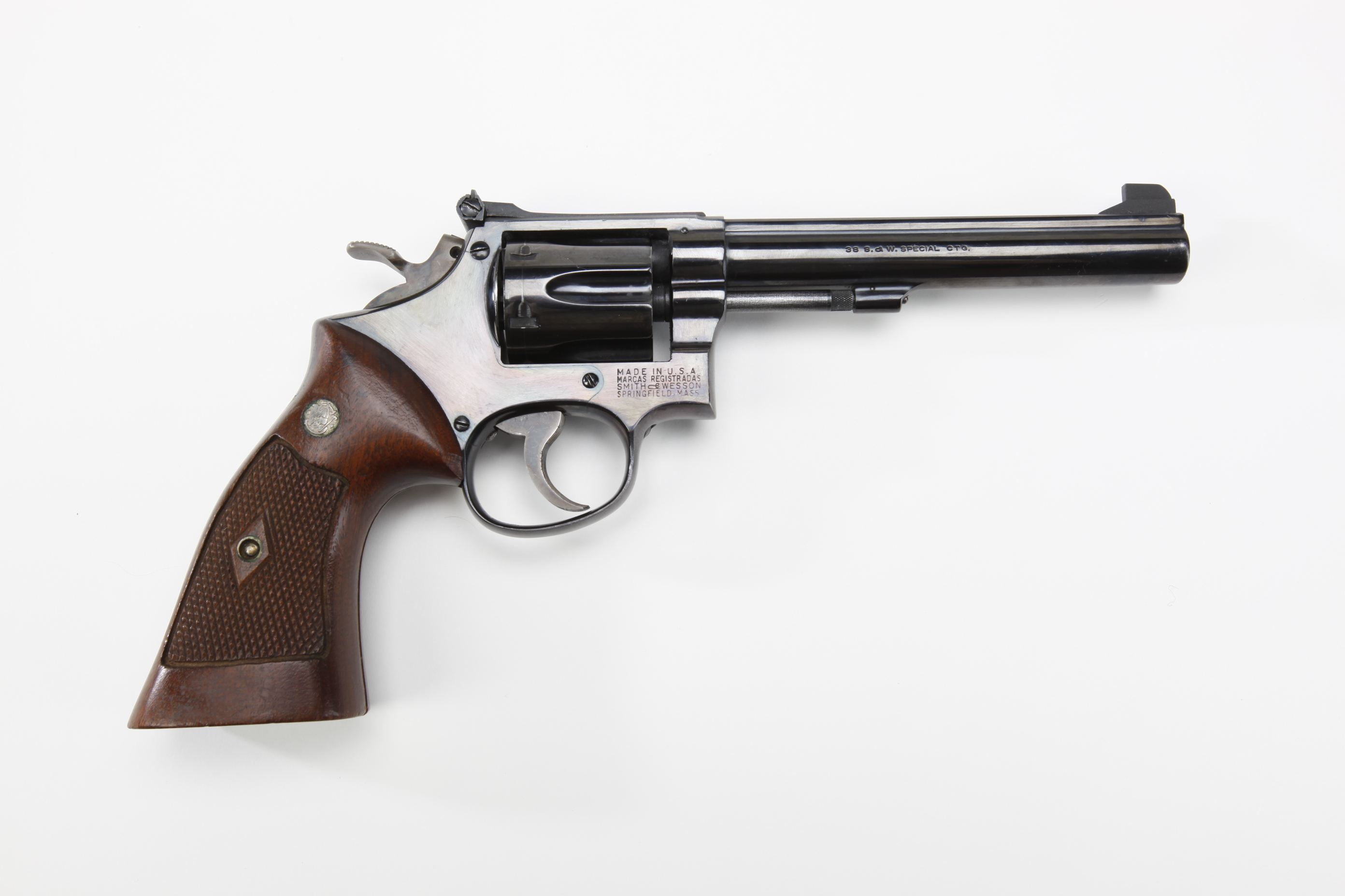 Smith & Wesson K 38 Masterpiece revolver