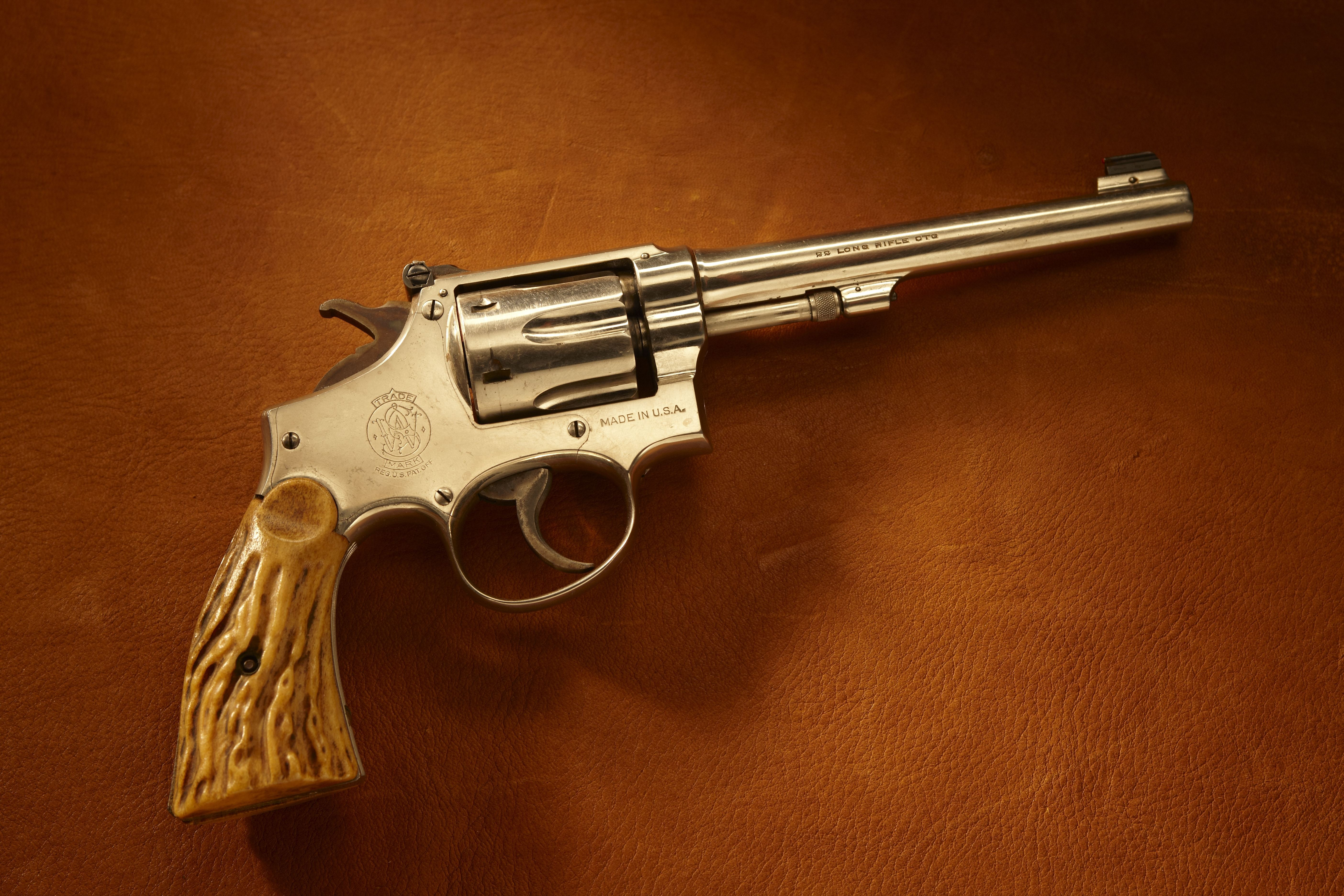 Exhibition Shooter Herb Parsons' Smith & Wesson Revolvers (1 of 2)