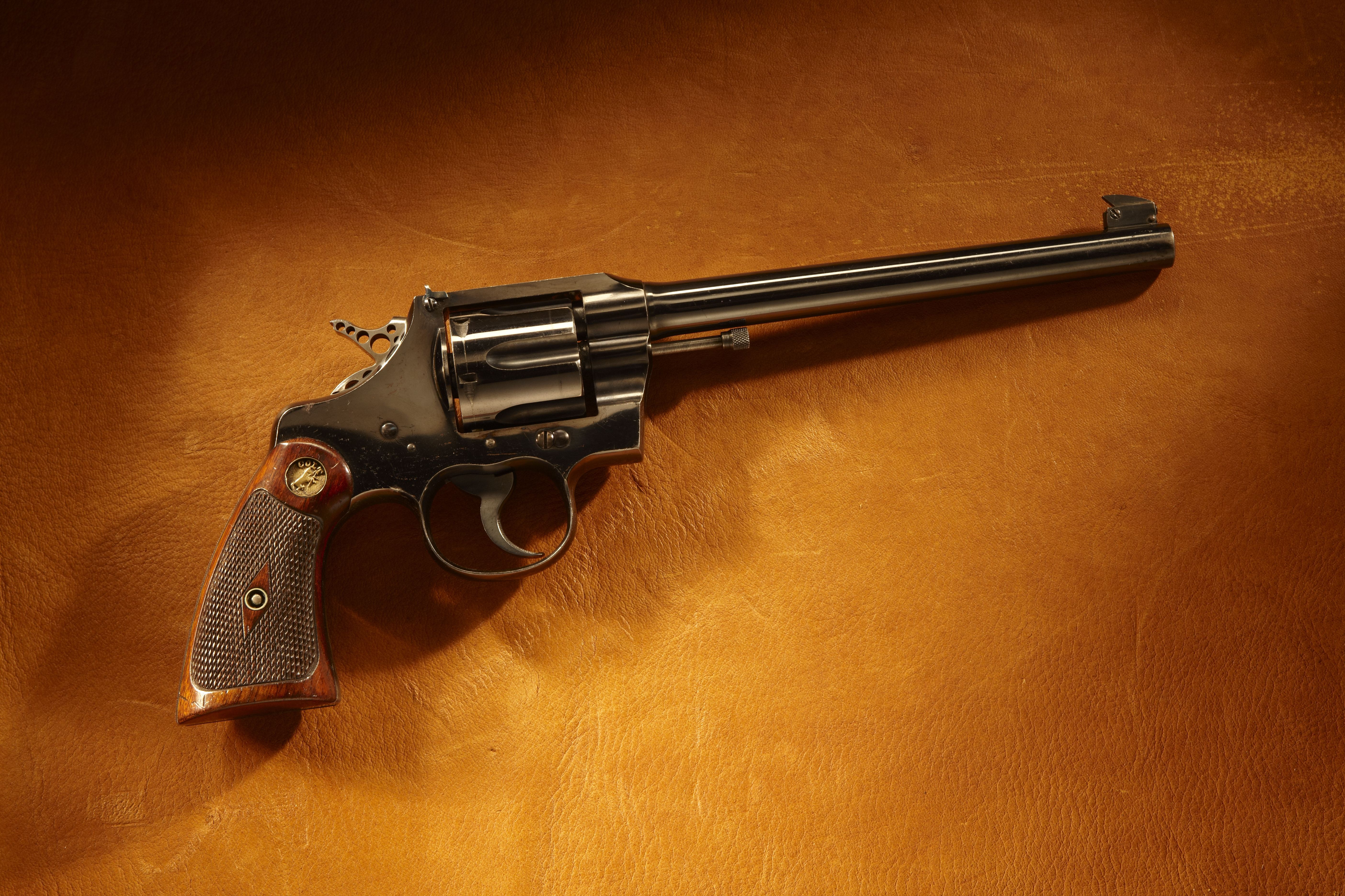 A.P. Lane's Olympic Gold Colt Revolver