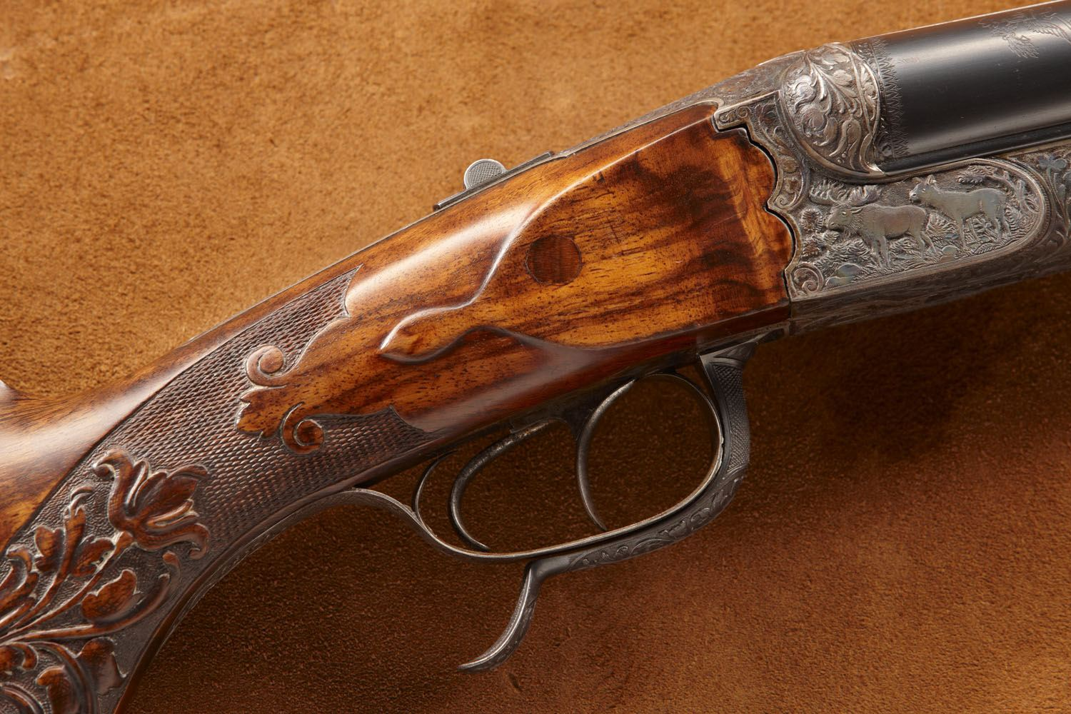 Theodore Roosevelt's Adolph Double Rifle