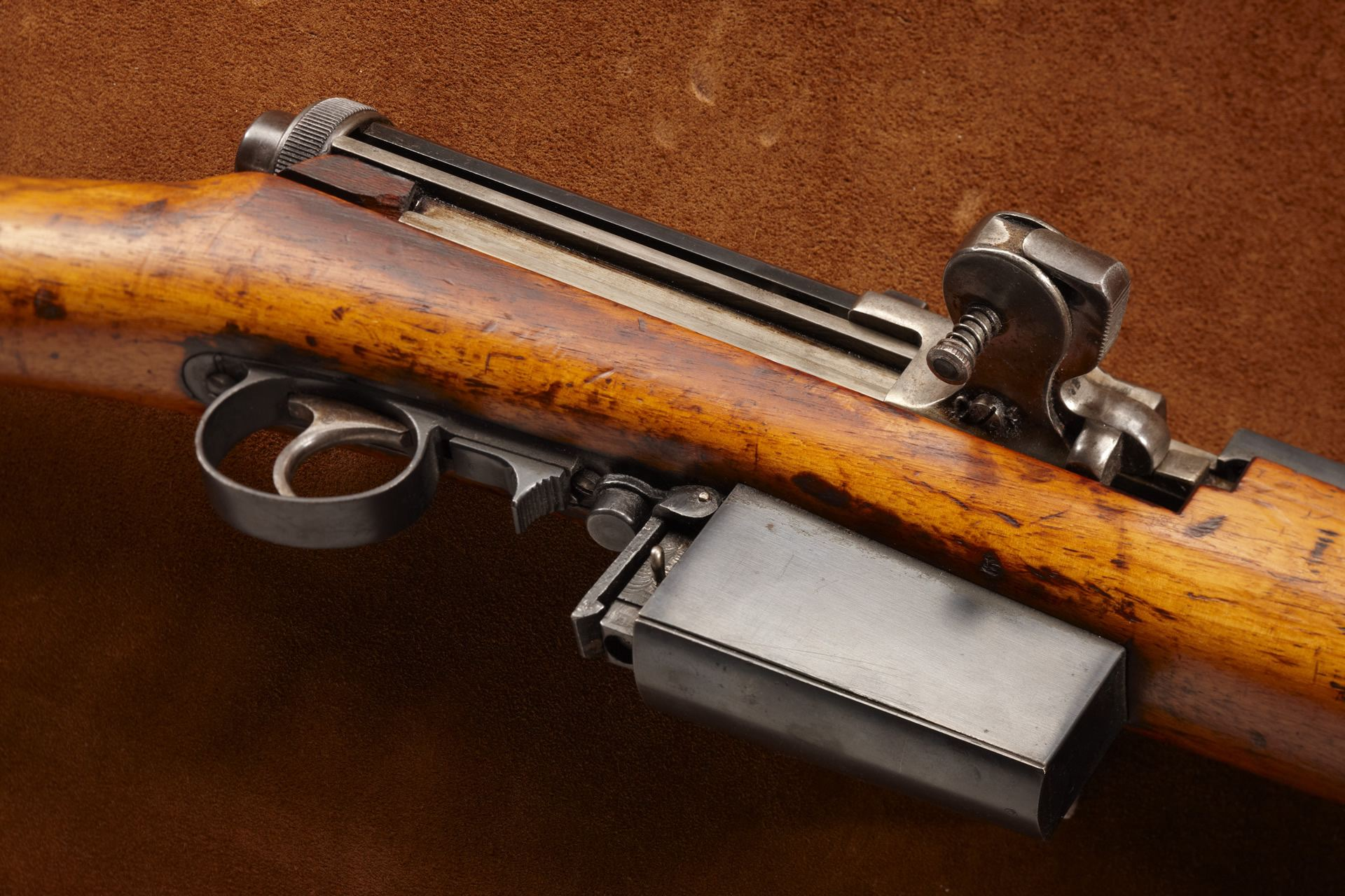 Early Semi-Automatic Mondragon Rifle
