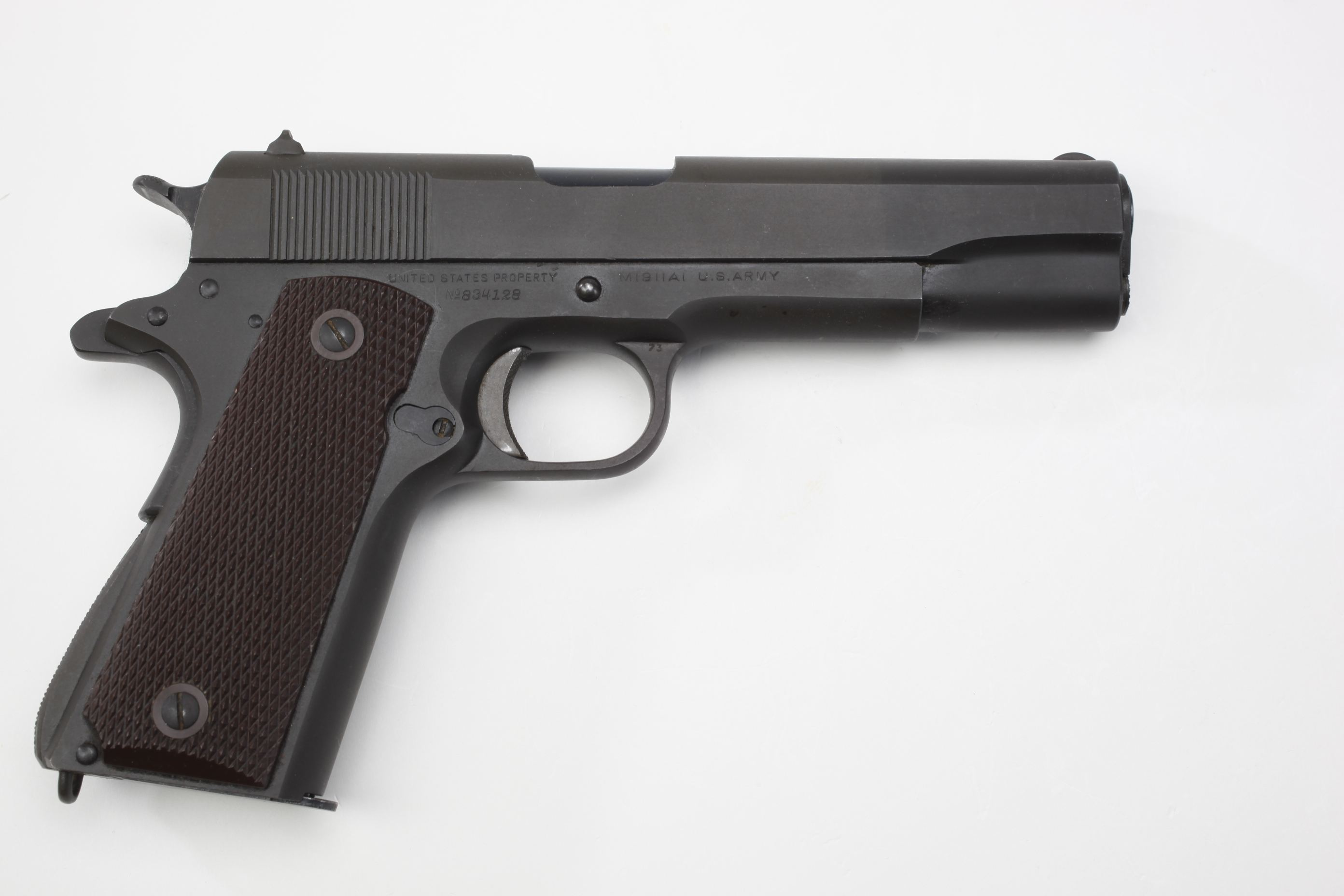Admiral Sir A. B. Cunningham's U.S./Colt M1911A1 Semi-Automatic General Officer's Pistol