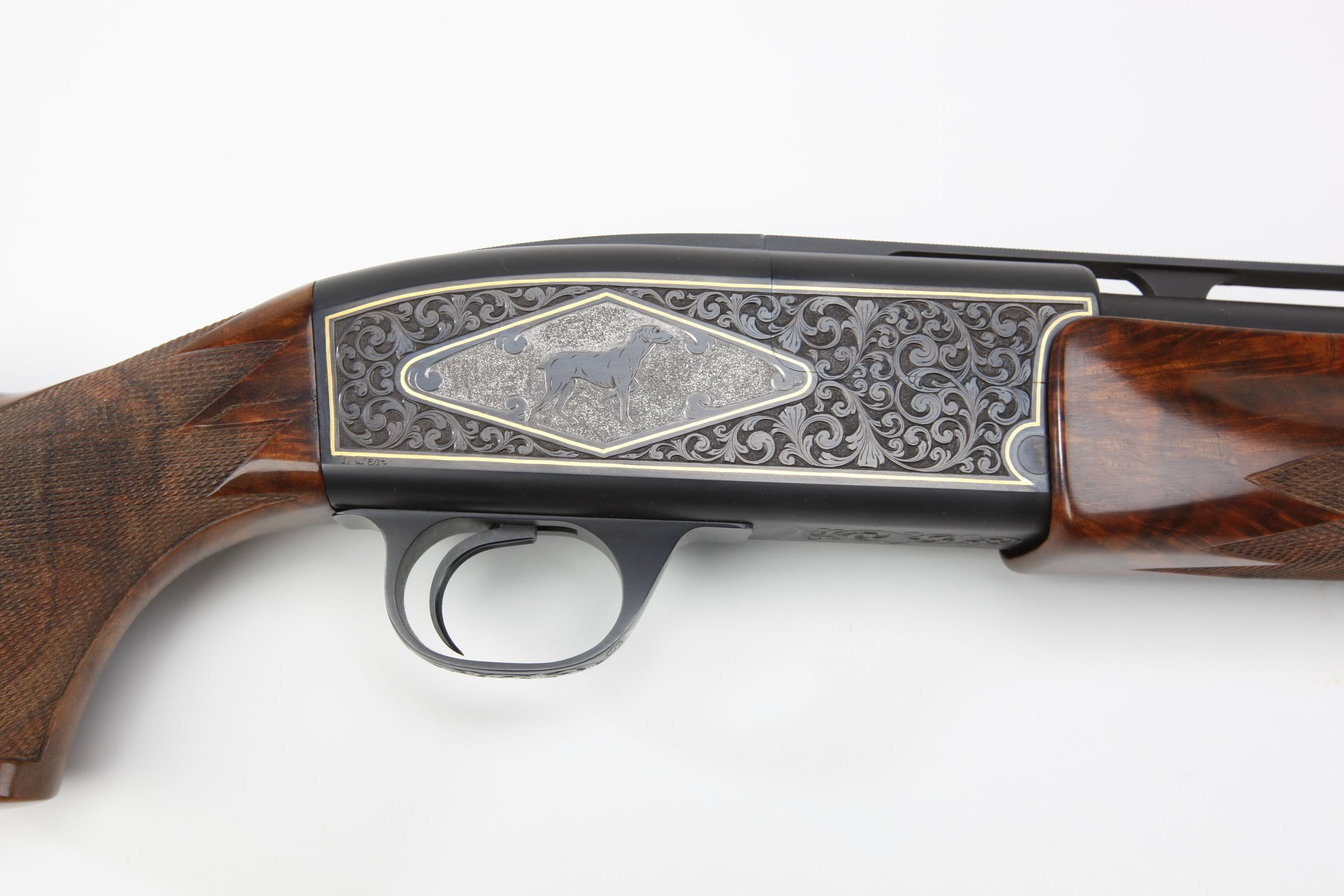 Seitz (Portland, OR) Serial # 1 Engraved Single Barrel Trap shotgun