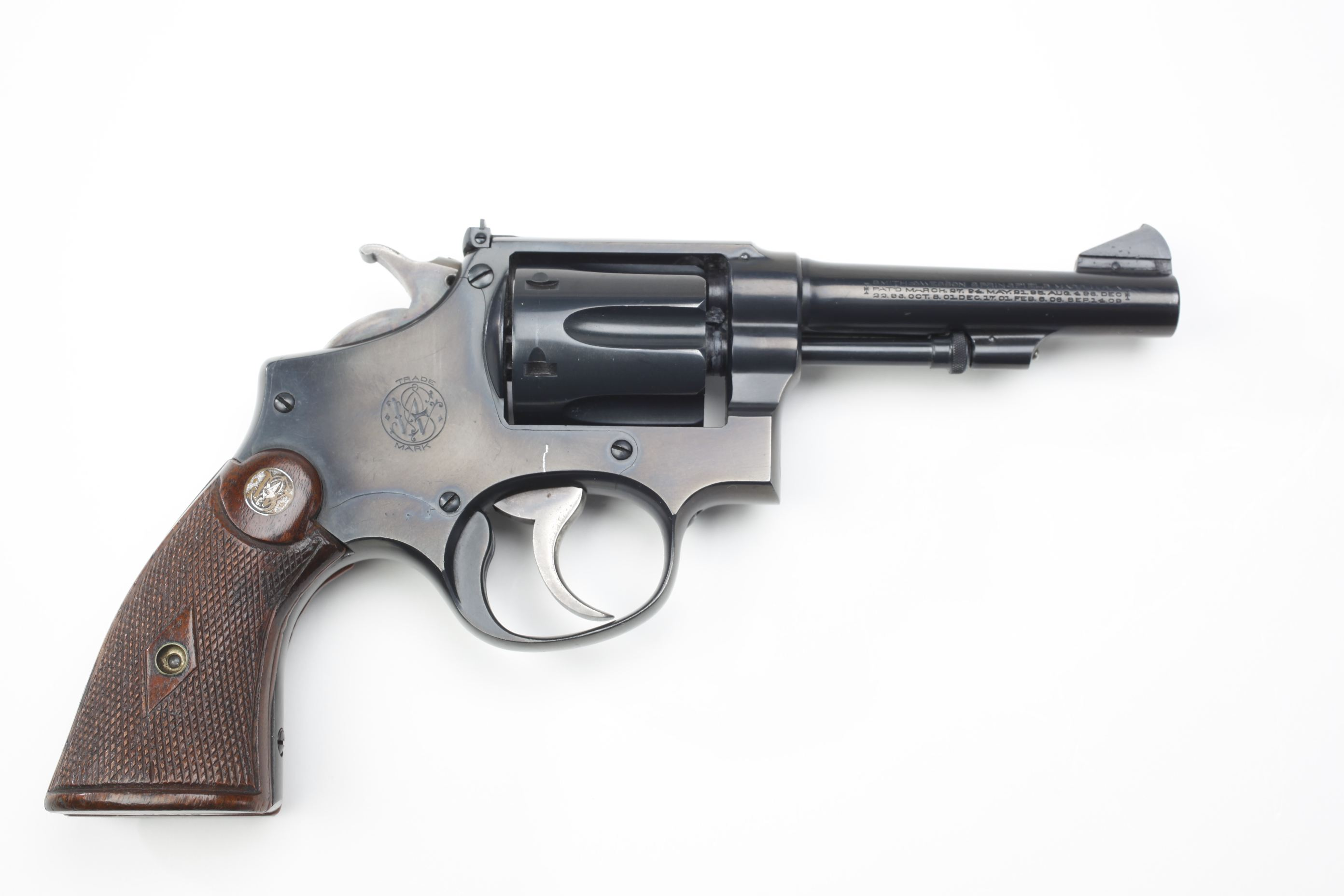 Smith & Wesson Military and Police Revolver (3)