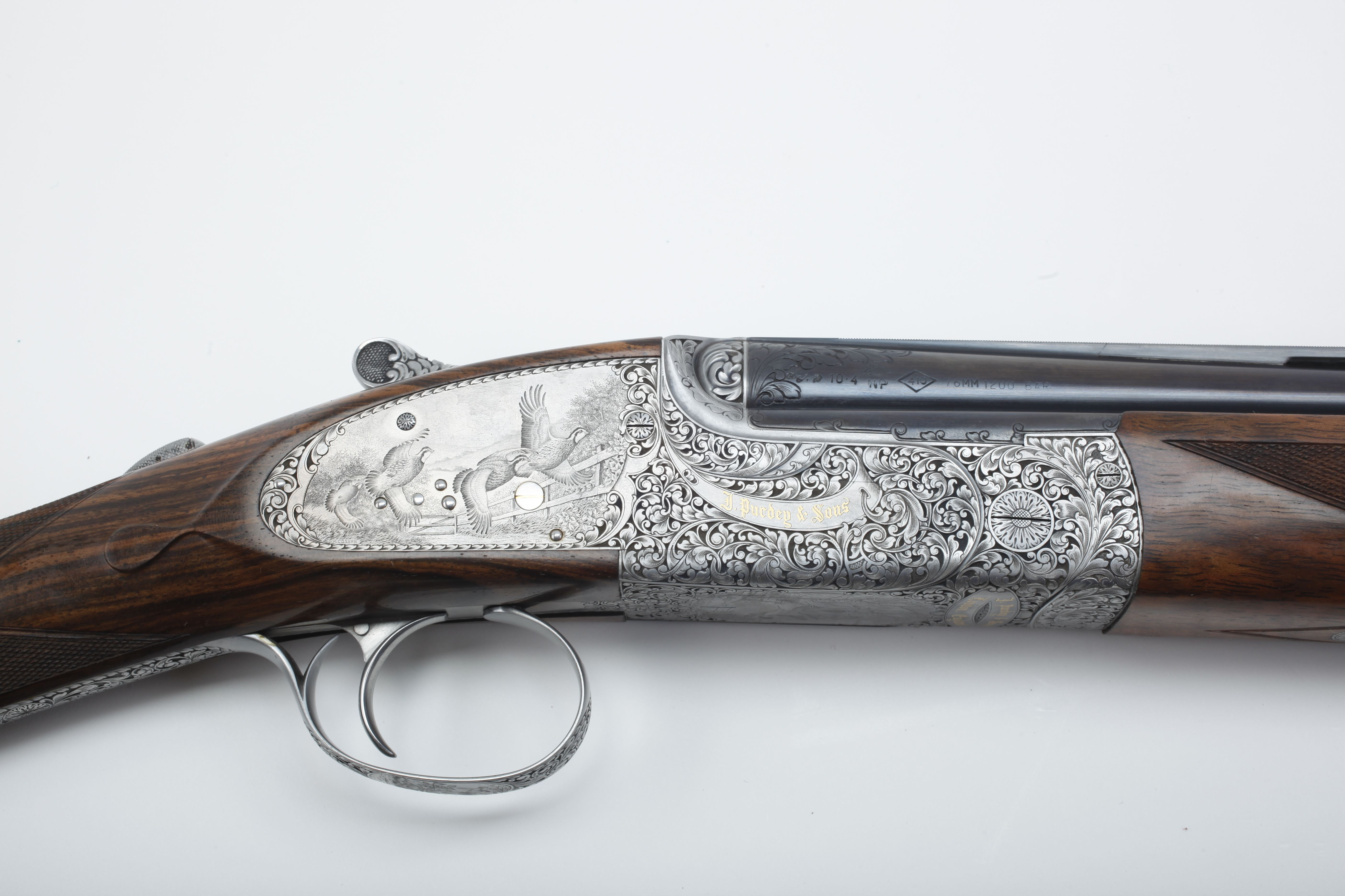 Purdy Over-Under Shotgun - .410 ga.