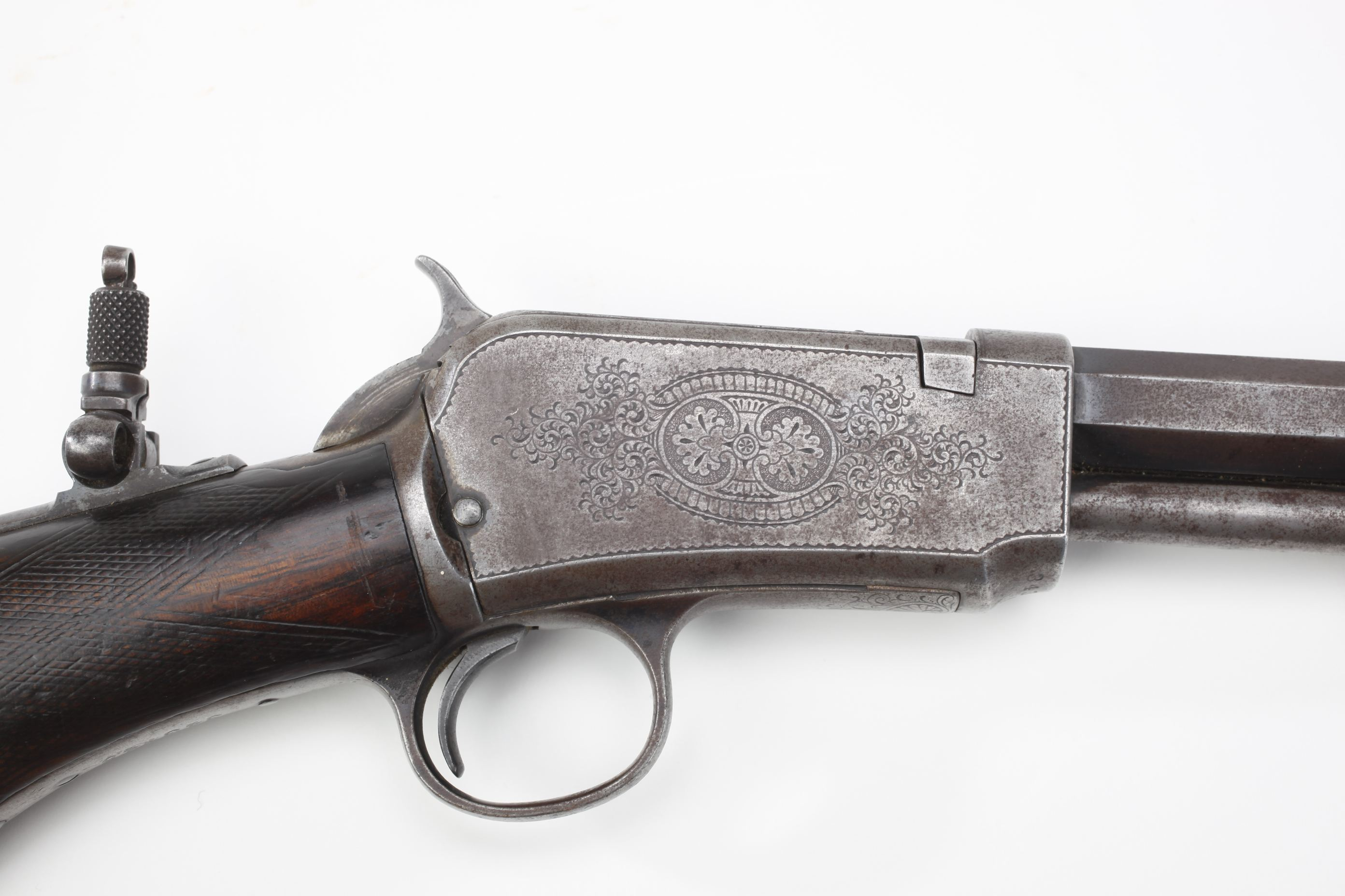 Winchester Model 1890 Slide Action Rifle (22)