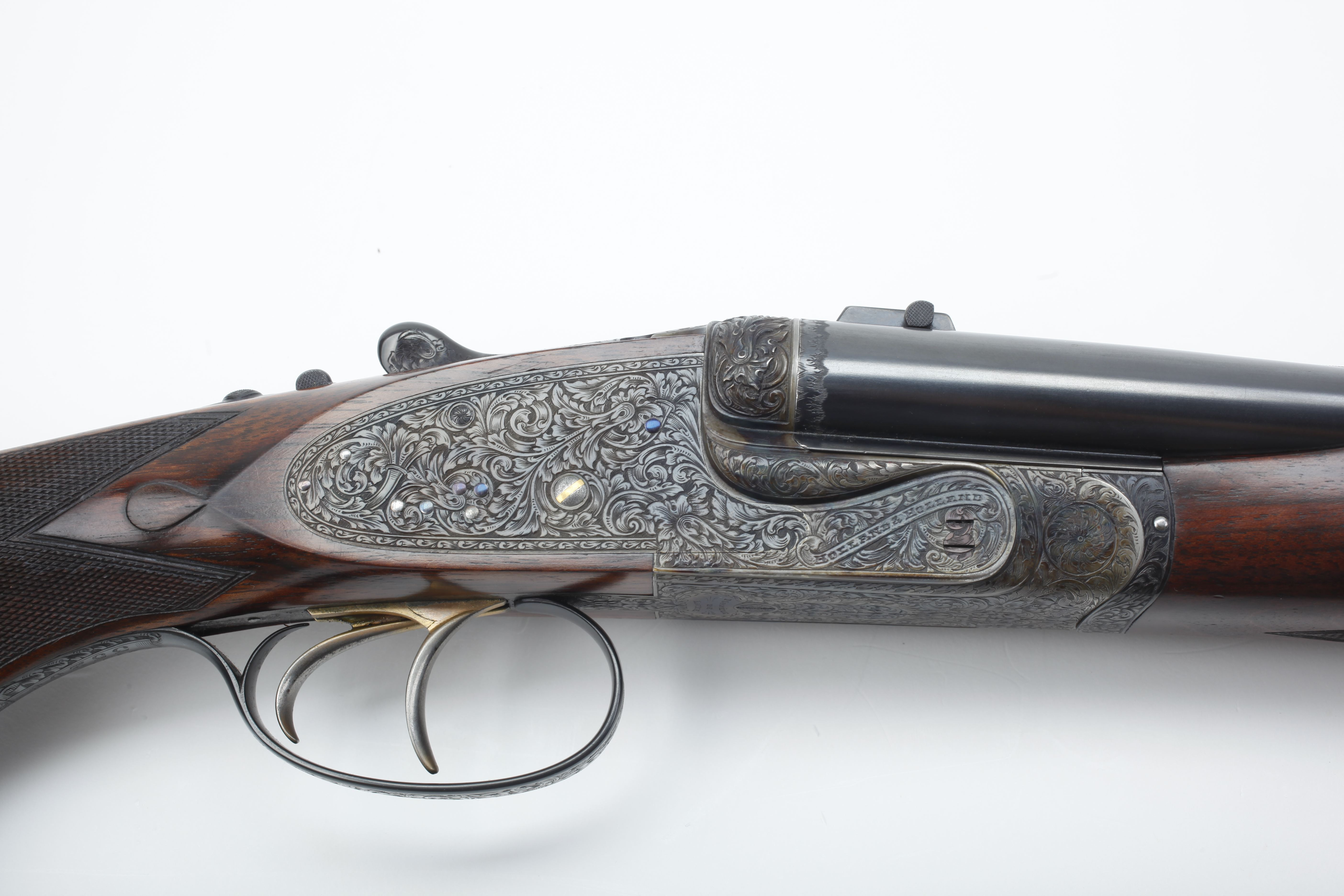 Holland & Holland Side by Side Double Rifle - .300 H&H cal.