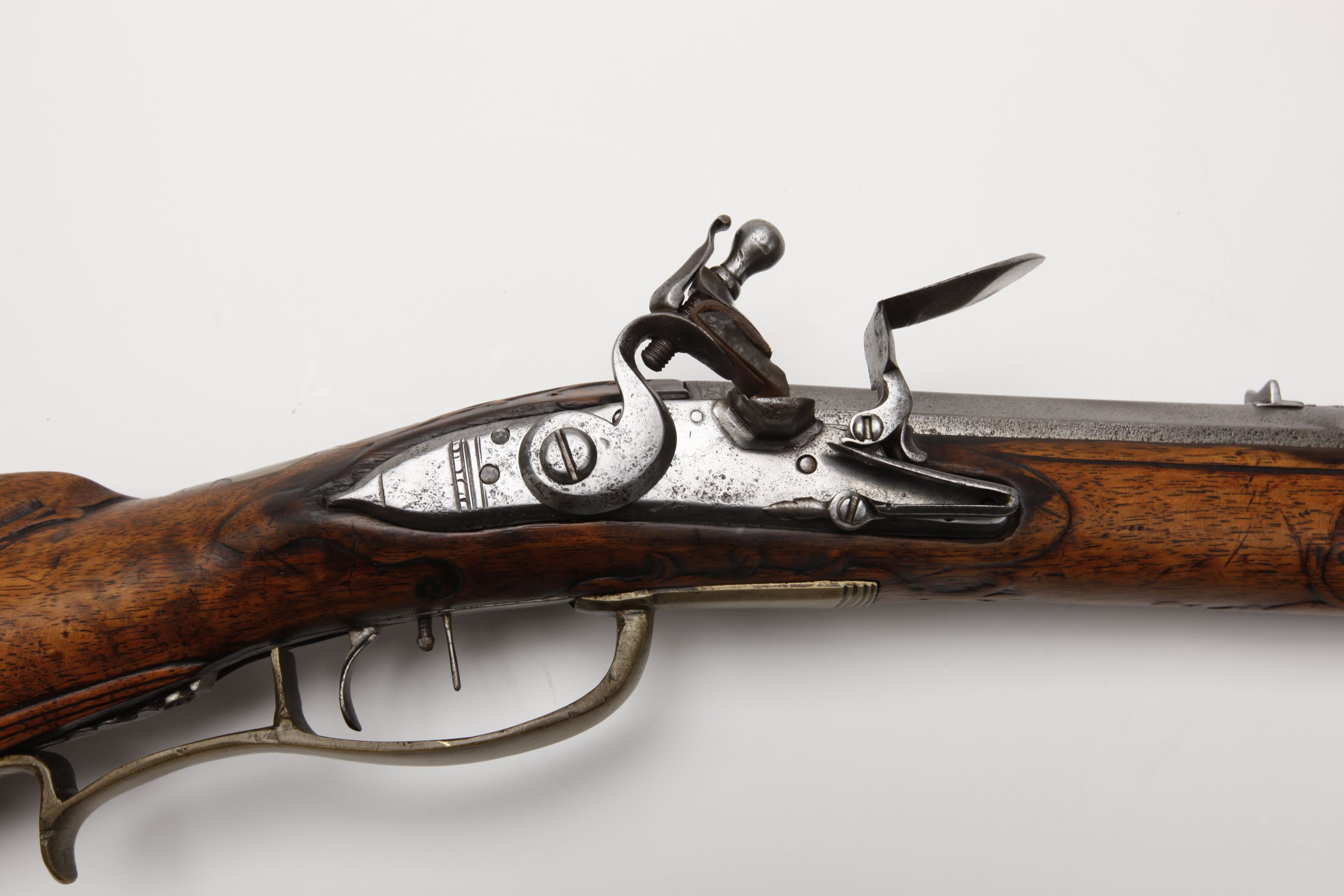German/English Flintlock Jaeger Rifle