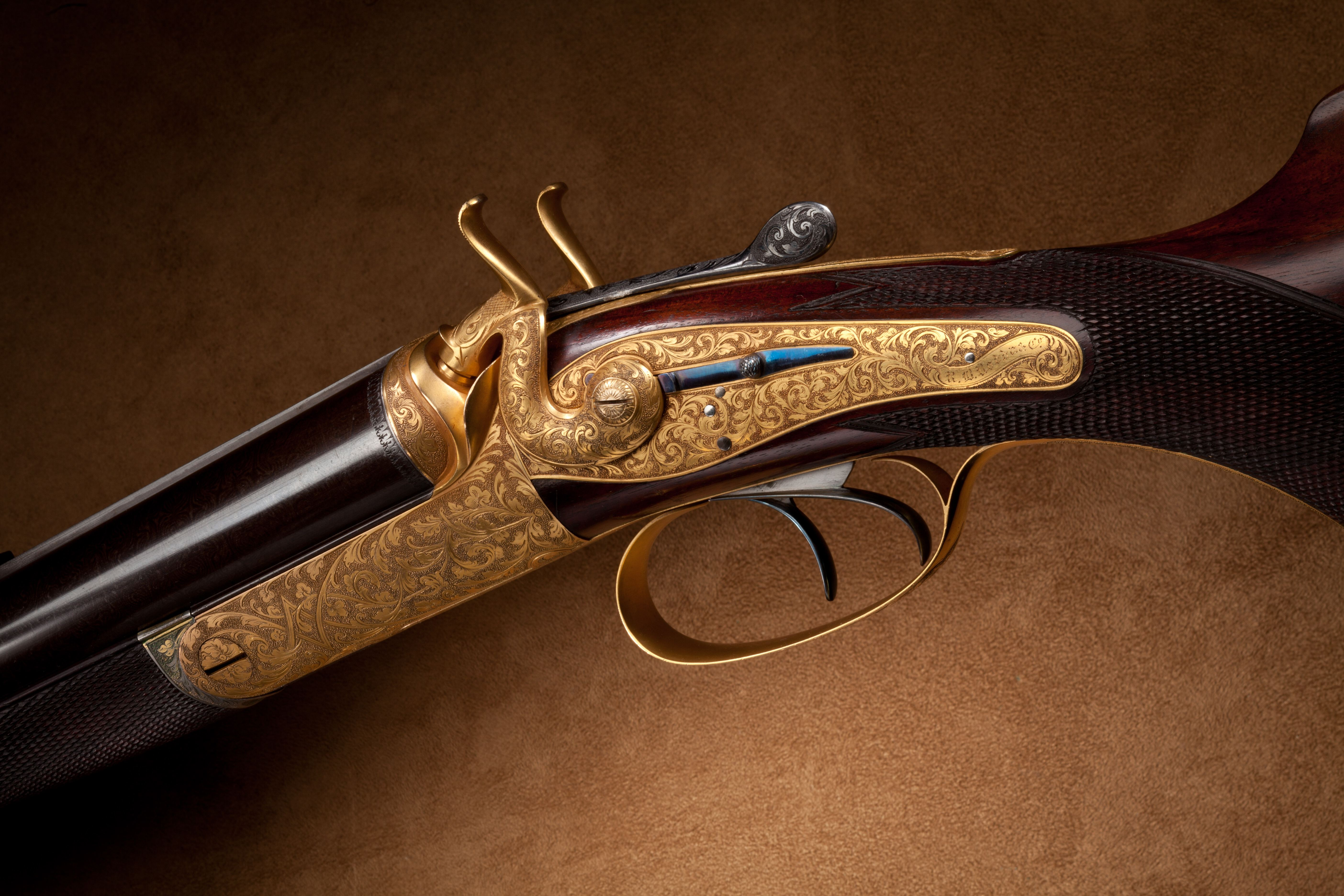 Rodda Exhibition Double Rifle - 16 bore