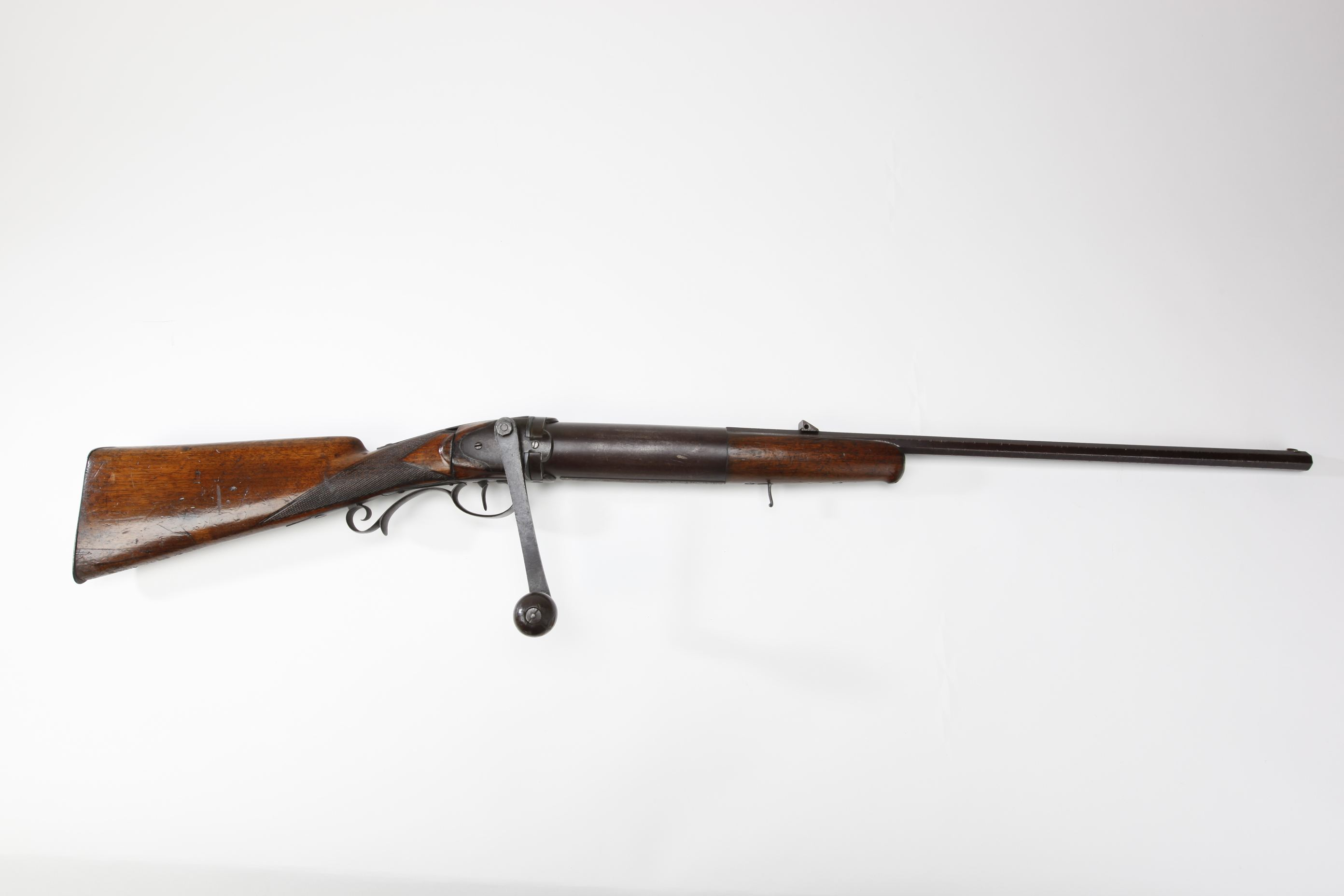 German Crank Action Air Rifle