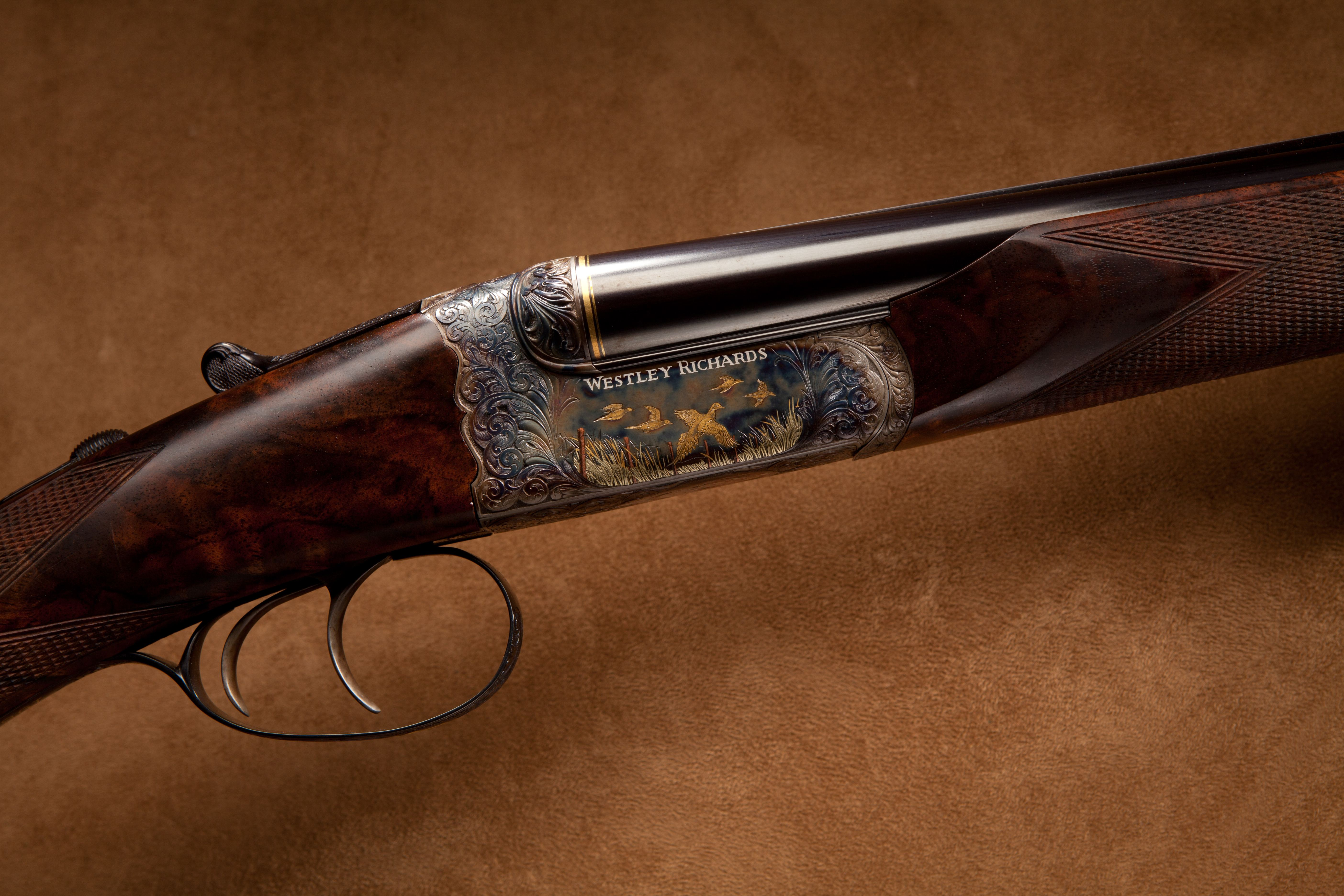 Westley Richards Side by Side Shotgun - .410 ga.