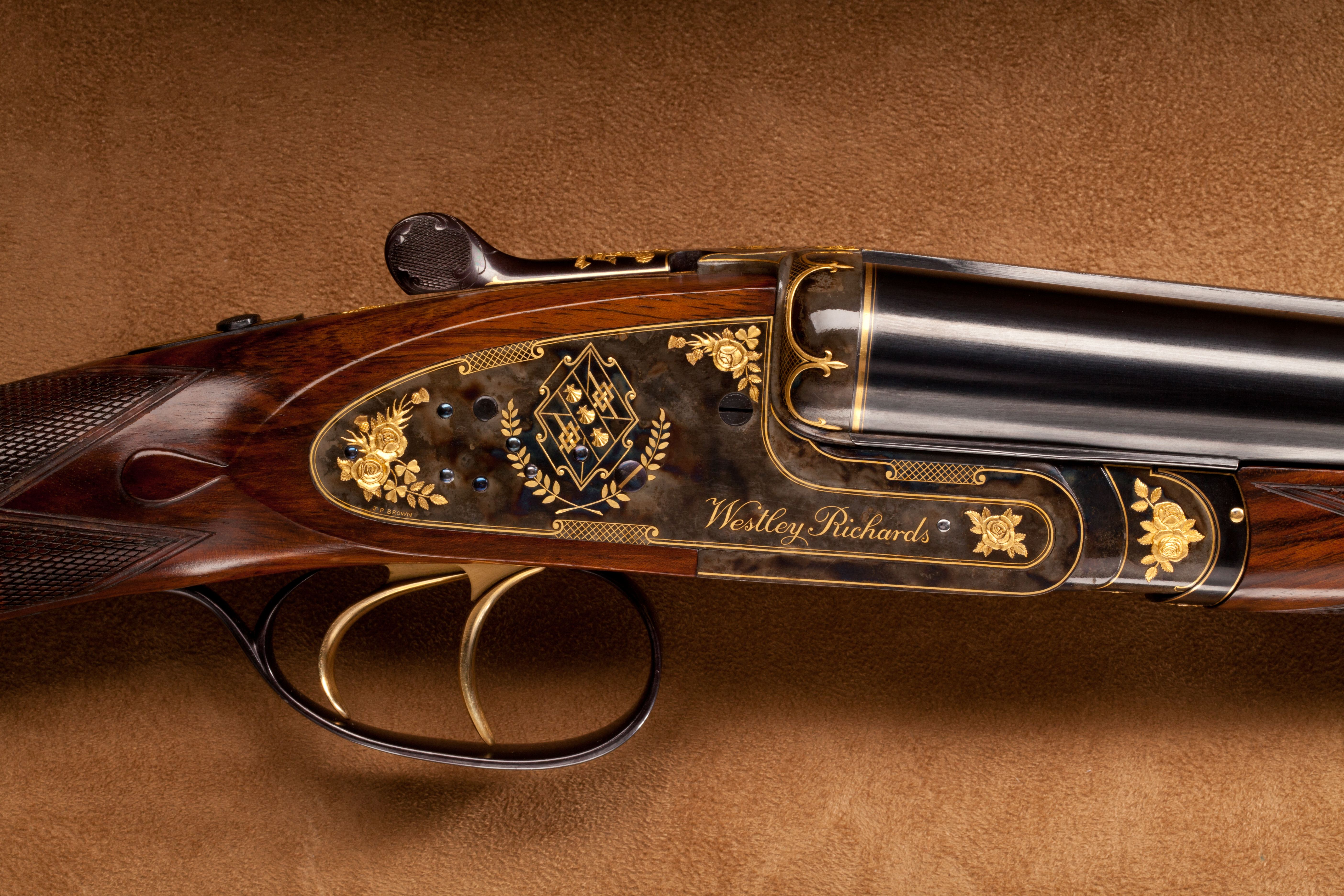 Westley Richards Side by Side Shotgun - 12 ga.