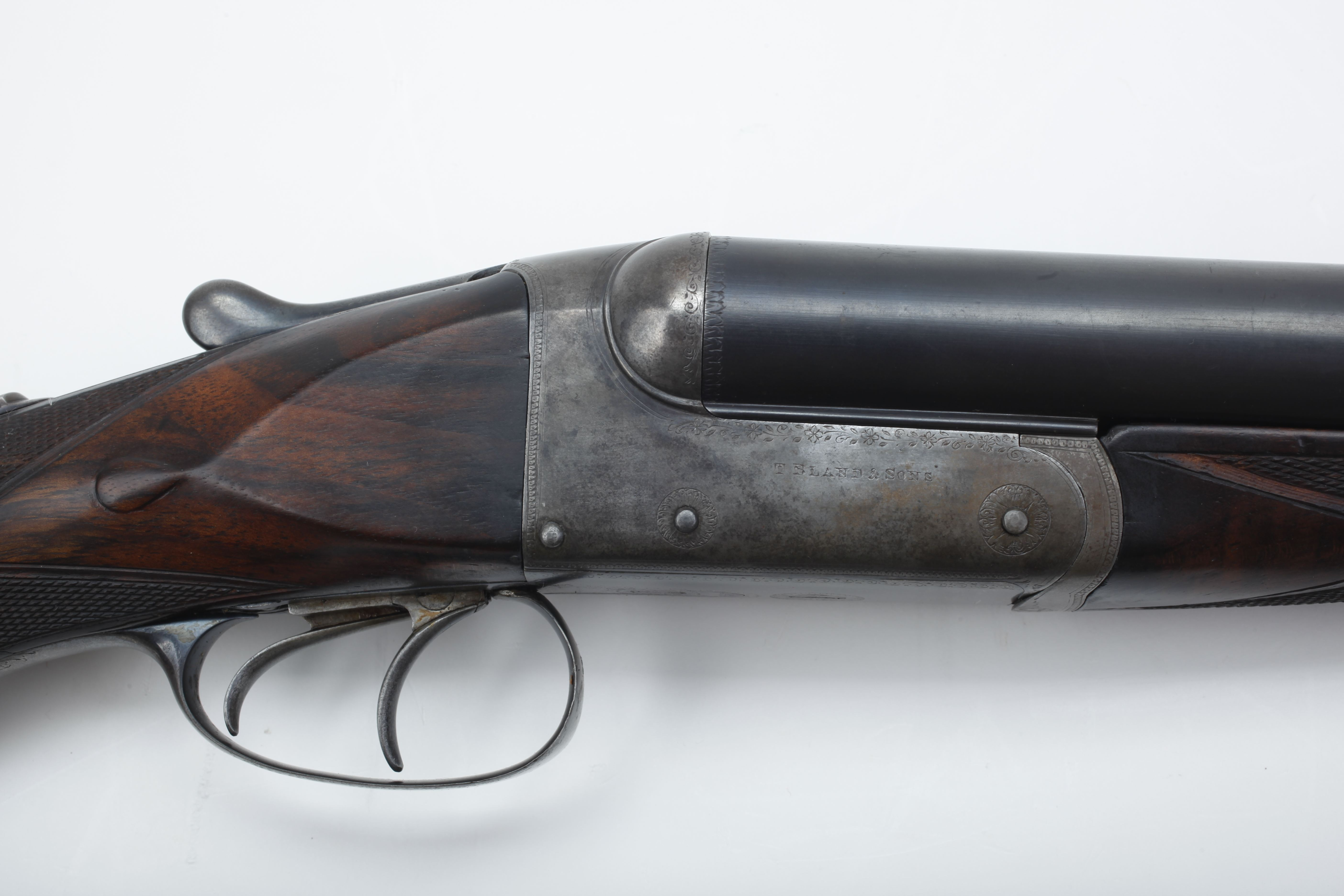 Thomas Bland Side by Side Double Rifle - .577 Nitro Express cal.